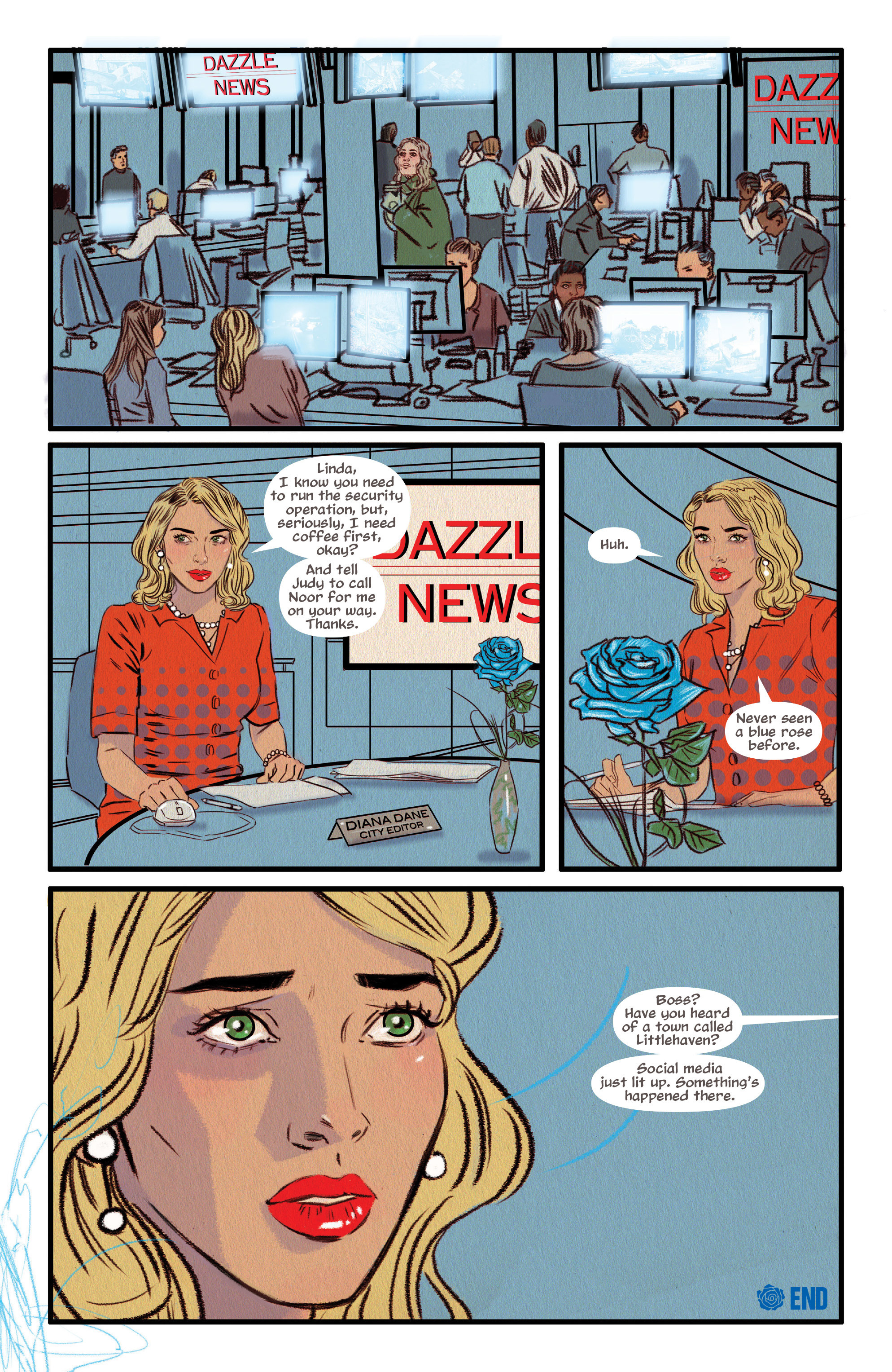 Read online Supreme Blue Rose comic -  Issue #7 - 22