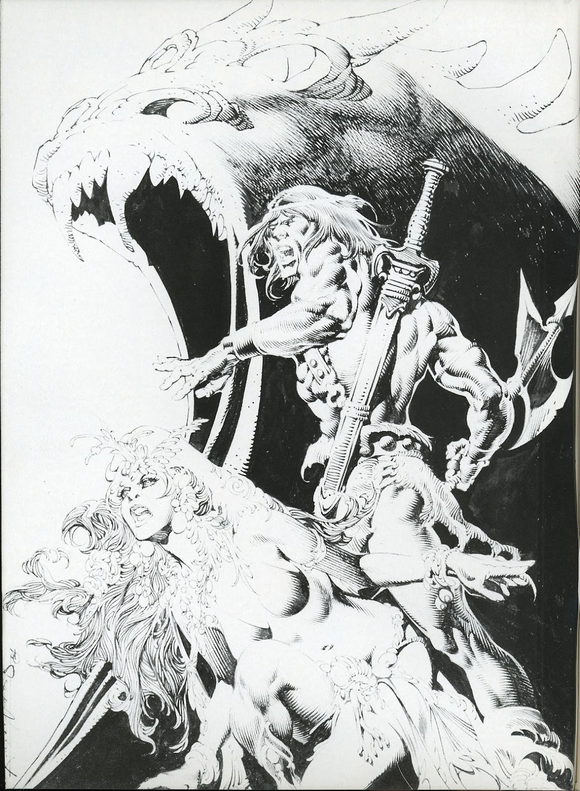 The Savage Sword Of Conan Issue #112 #113 - English 2
