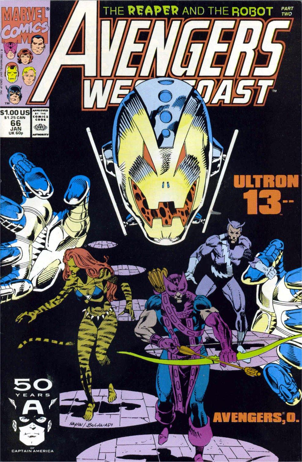 Avengers West Coast (1989) 66 Page 1