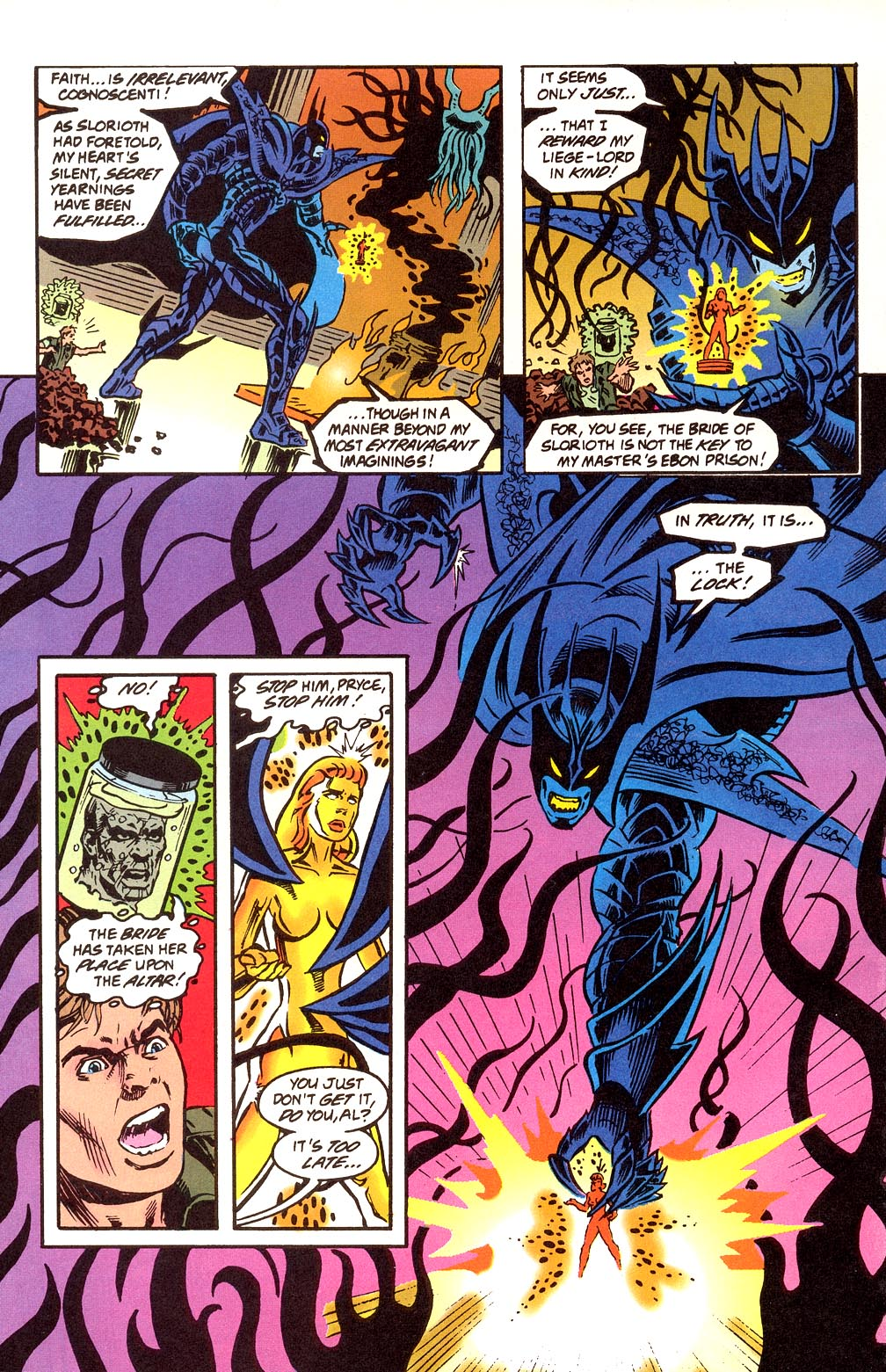 Read online Secret Defenders comic -  Issue #24 - 20
