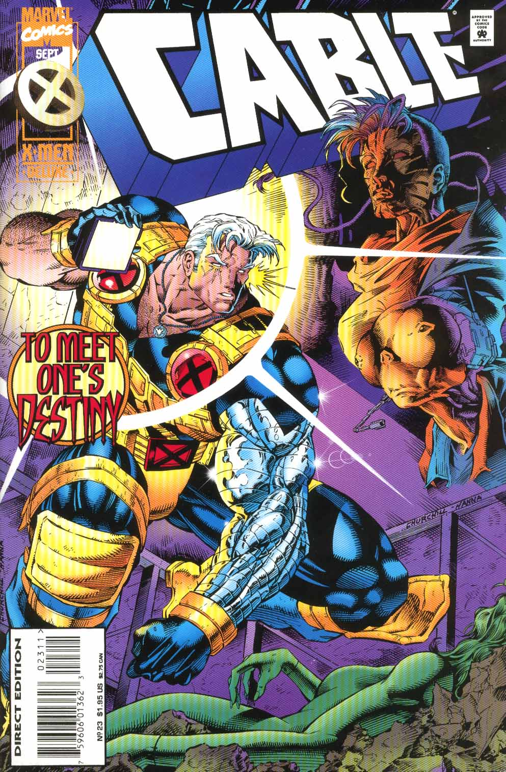 Cable (1993) 23 Page 1