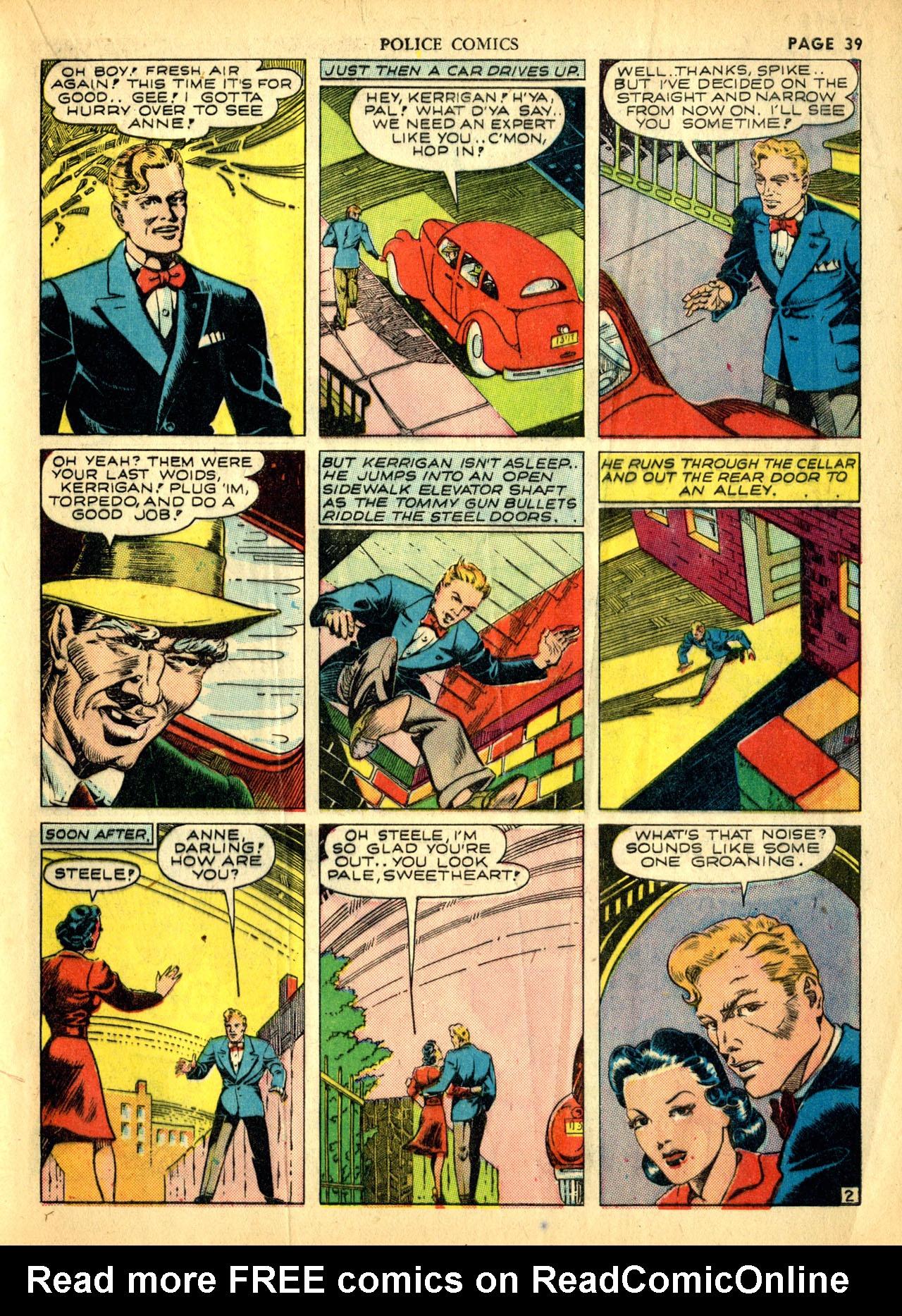 Police Comics #1 #127 - English 42