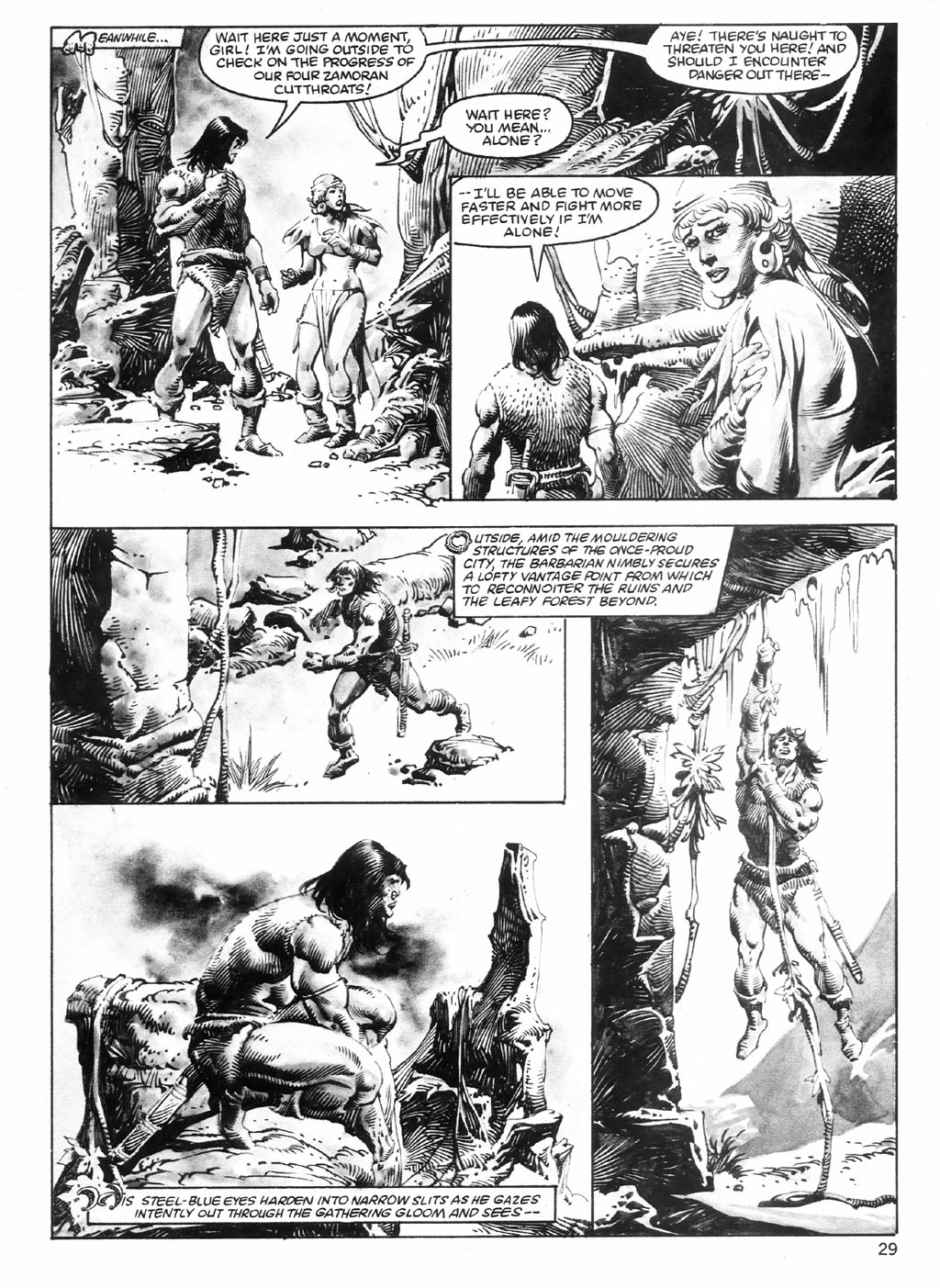 The Savage Sword Of Conan Issue #98 #99 - English 29
