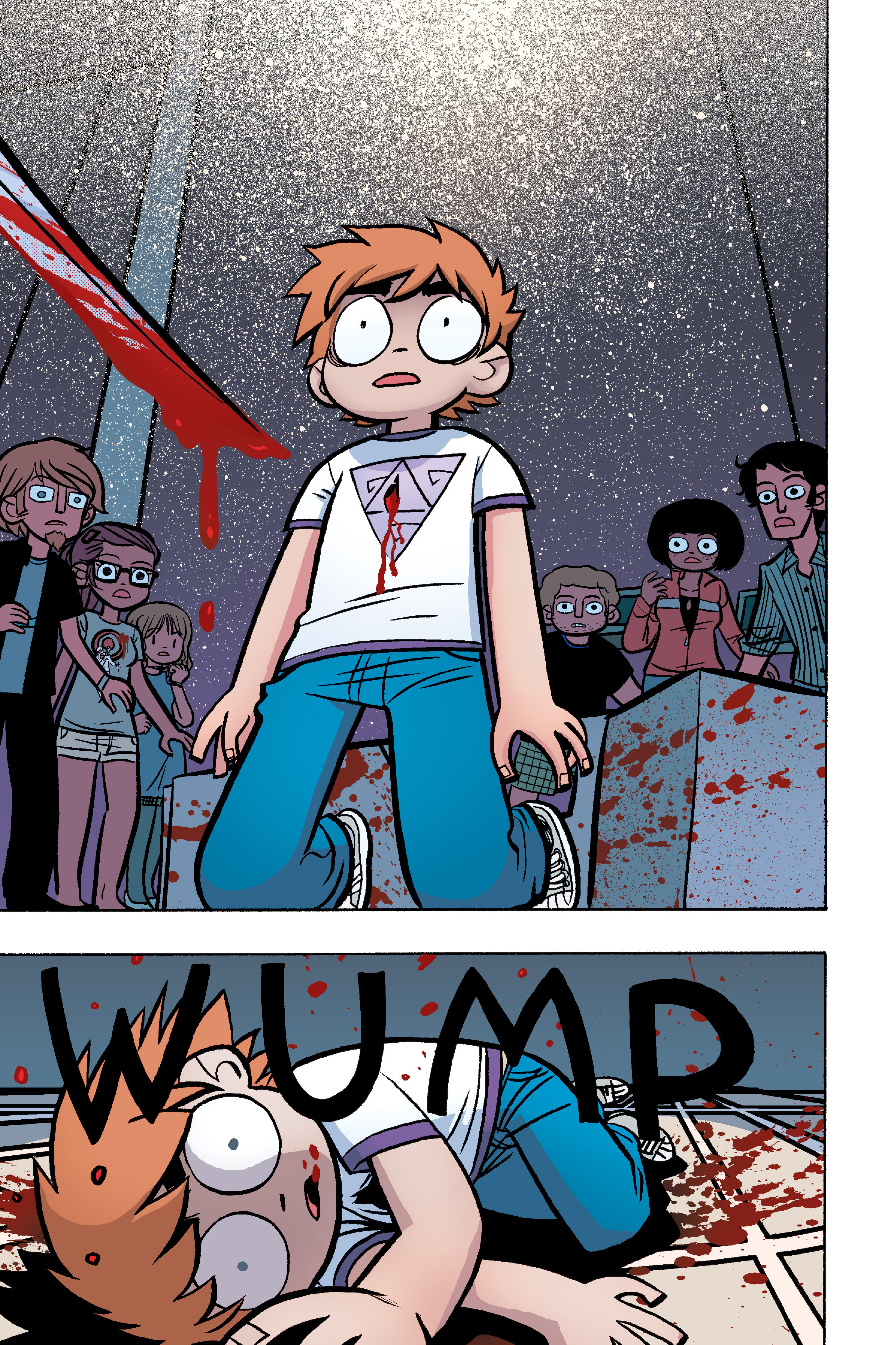 Read online Scott Pilgrim comic -  Issue #6 - 126