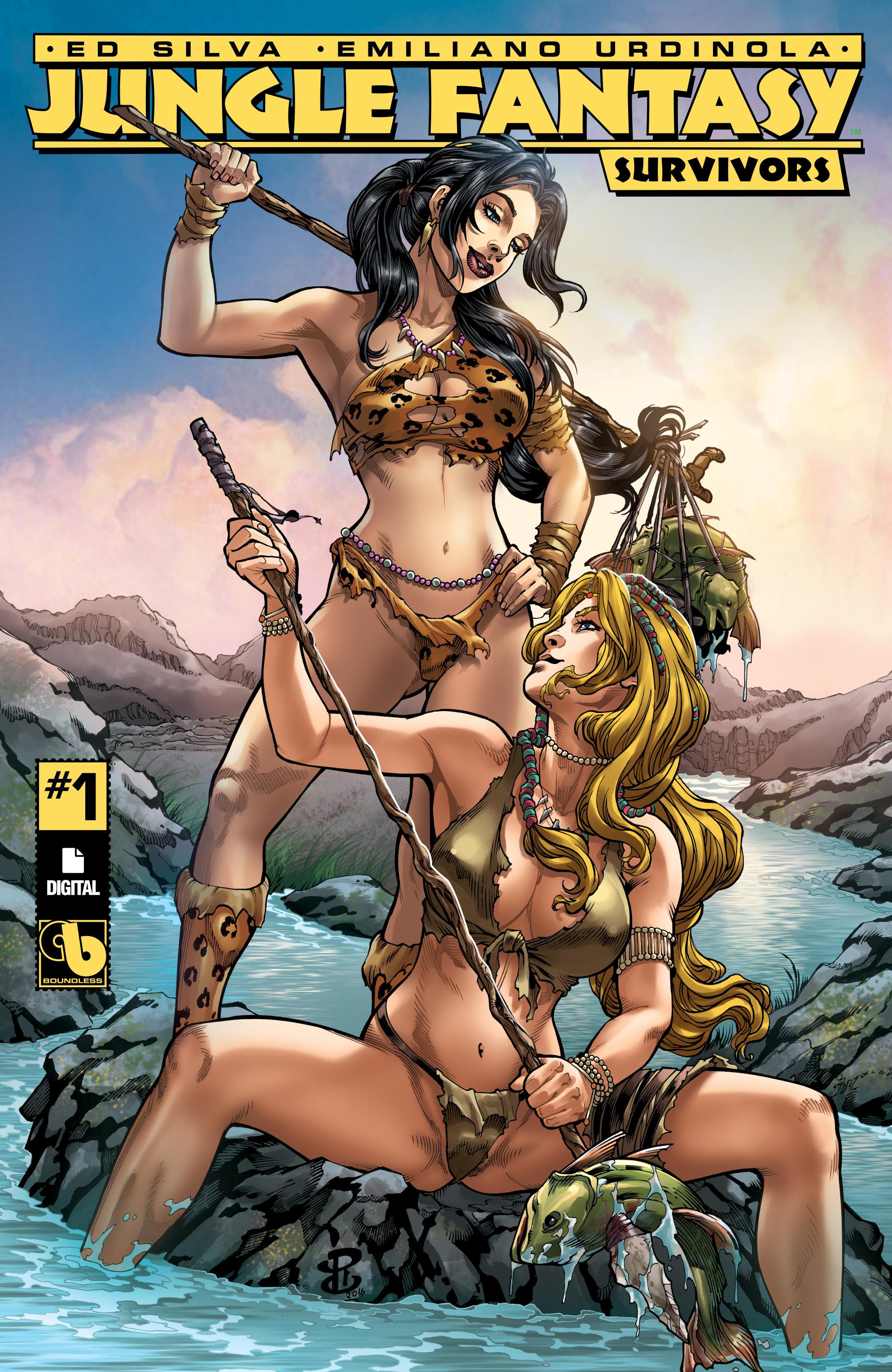 Jungle Fantasy: Survivors issue 1 - Page 1