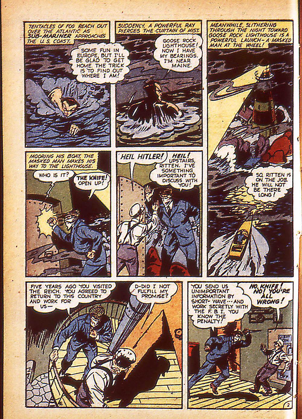 Sub-Mariner Comics Issue #8 #8 - English 5