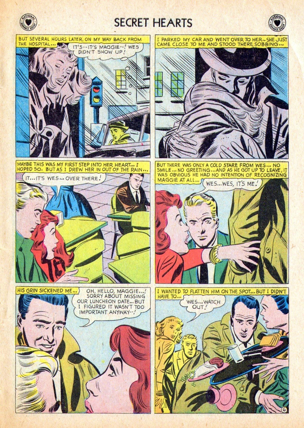 Read online Secret Hearts comic -  Issue #53 - 31