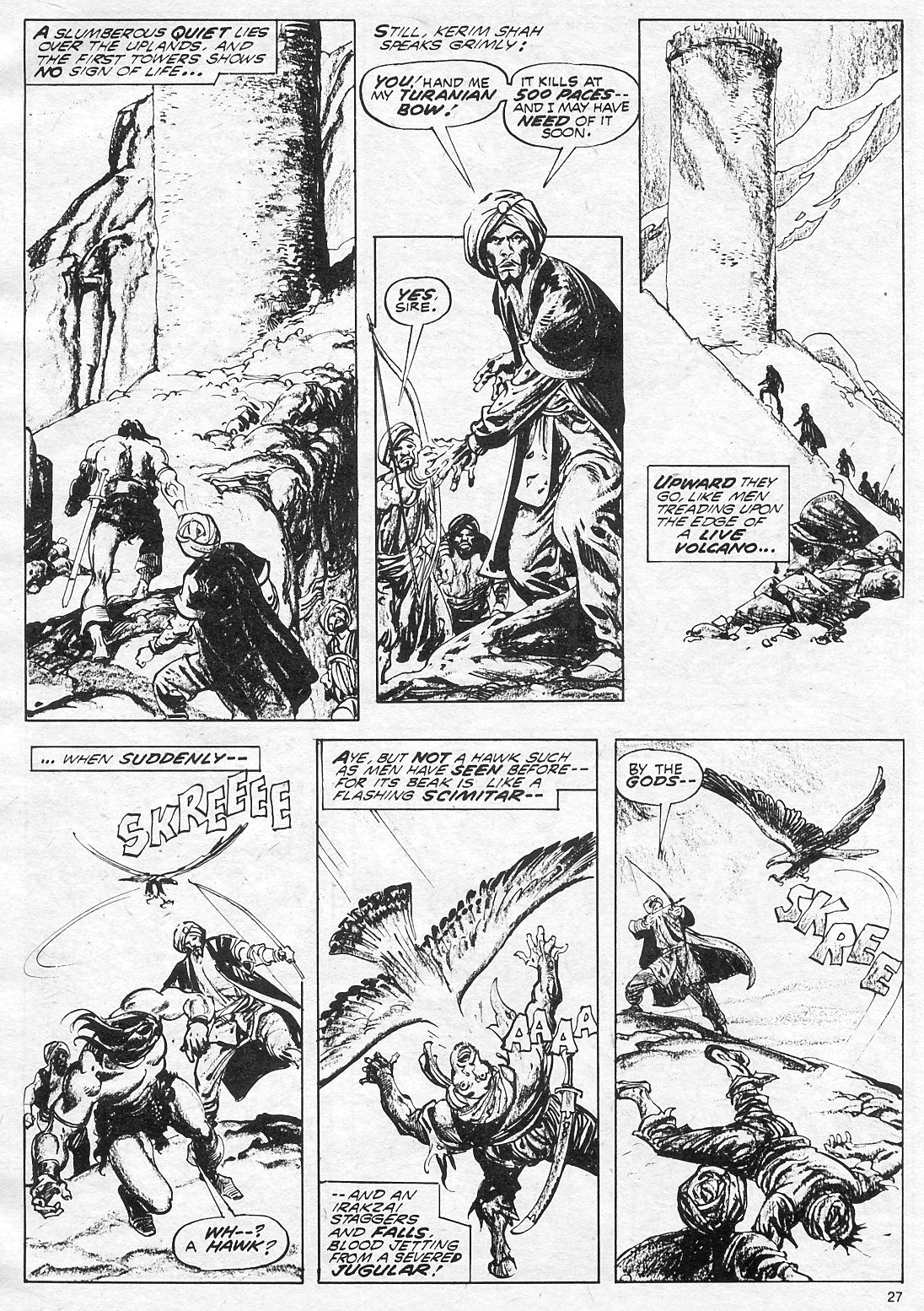The Savage Sword Of Conan Issue #18 #19 - English 27