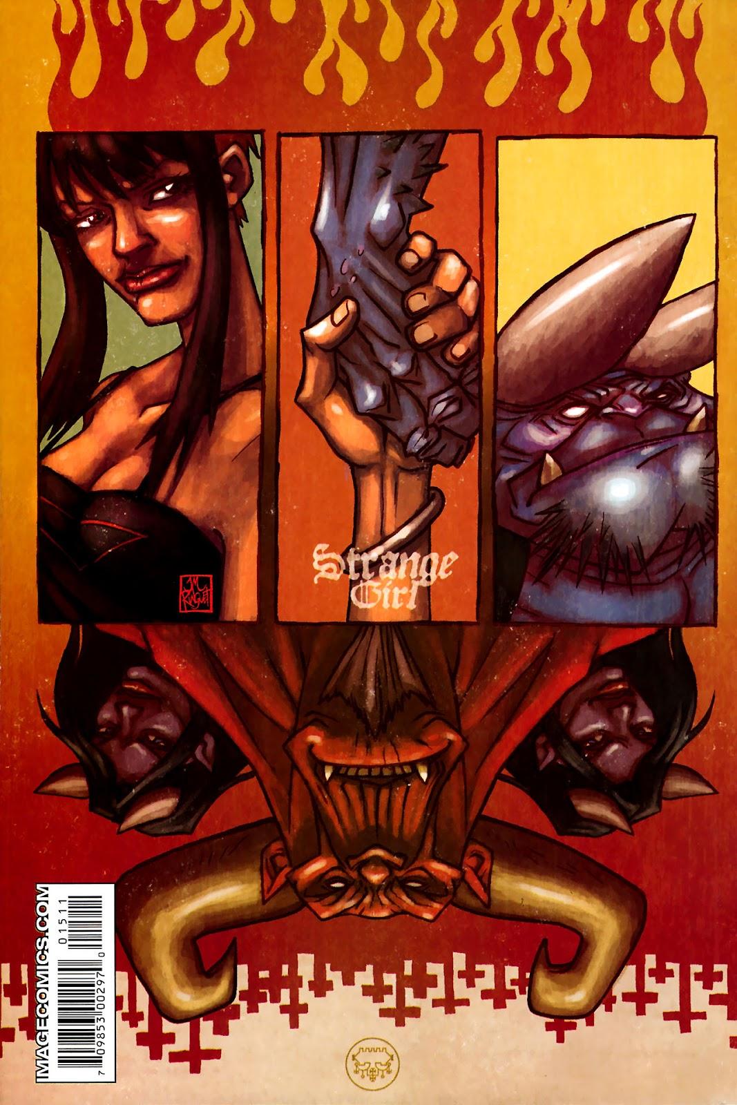 Strange Girl Issue #15 #16 - English 30