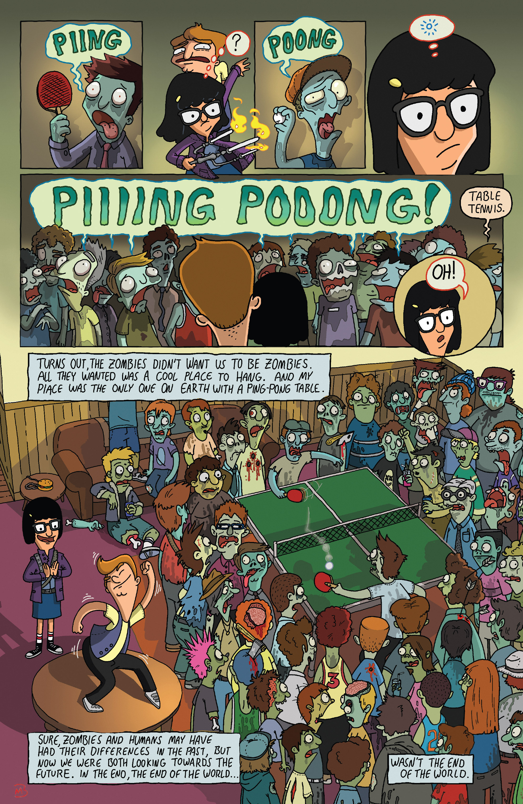 Read online Bob's Burgers (2014) comic -  Issue #5 - 8