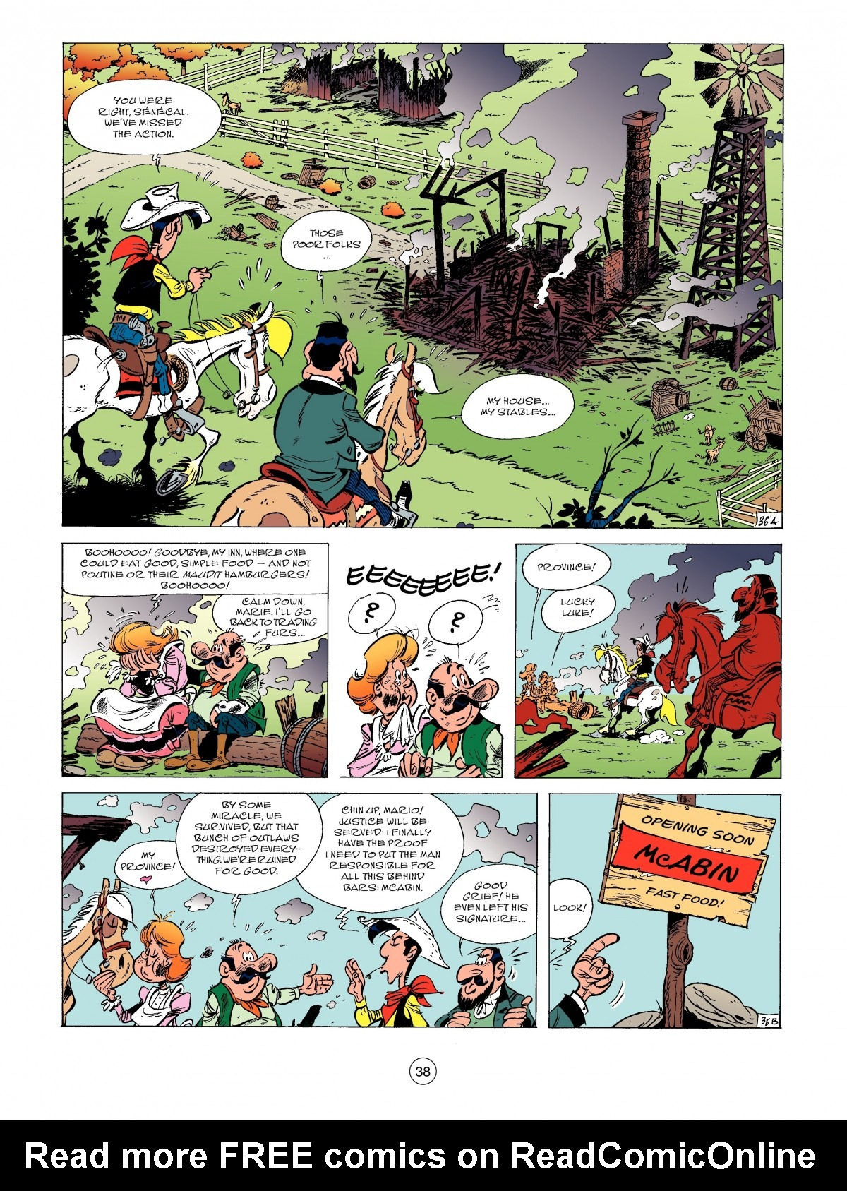 A Lucky Luke Adventure 52 Page 39