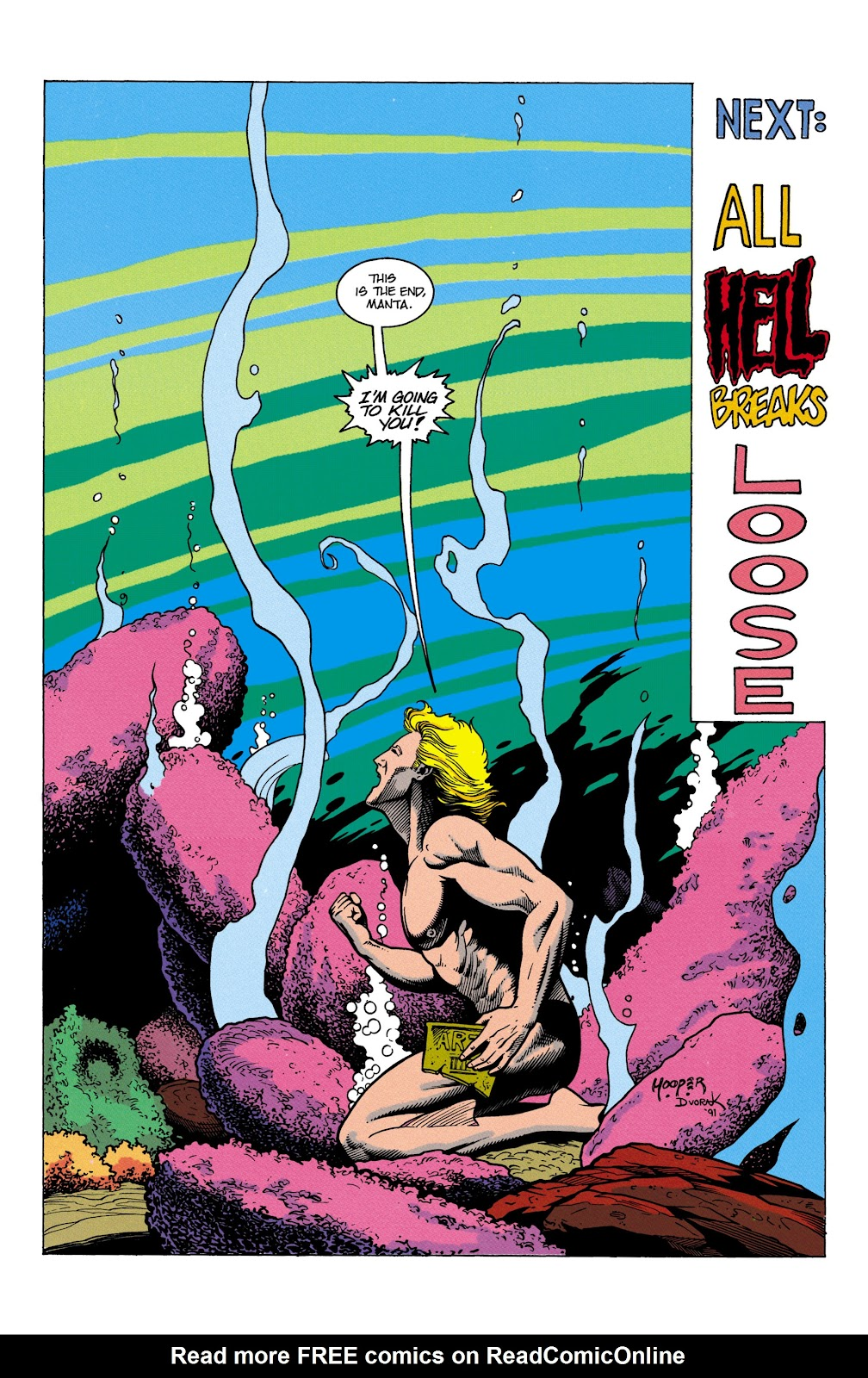 Aquaman (1991) Issue #5 #5 - English 23