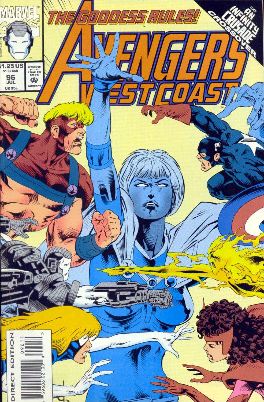 Avengers West Coast (1989) 96 Page 1