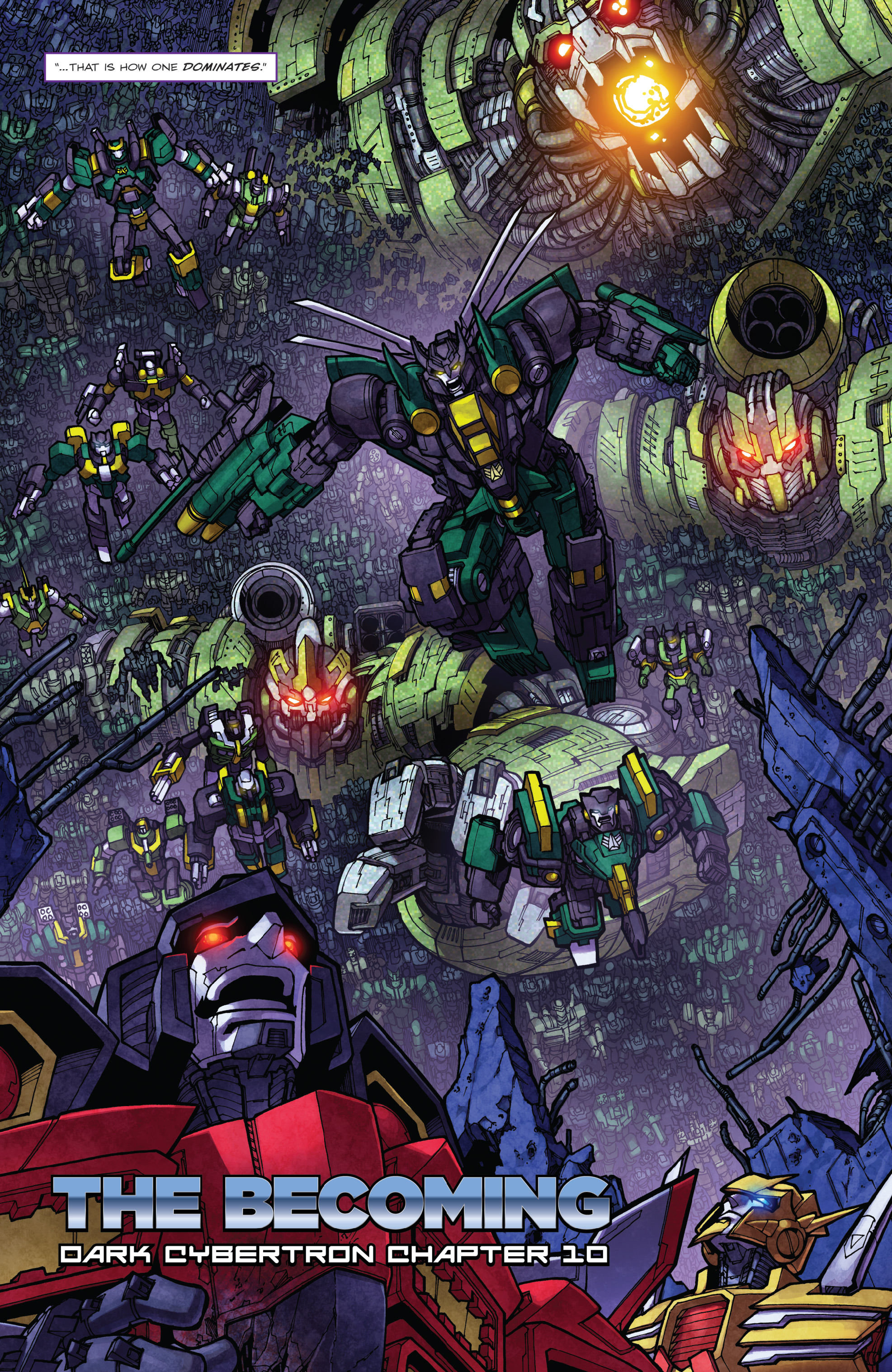 Read online The Transformers: Dark Cybertron Finale comic -  Issue # Full - 99
