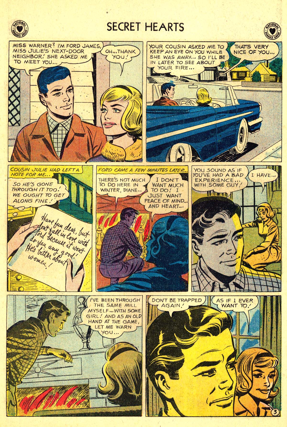 Read online Secret Hearts comic -  Issue #64 - 20