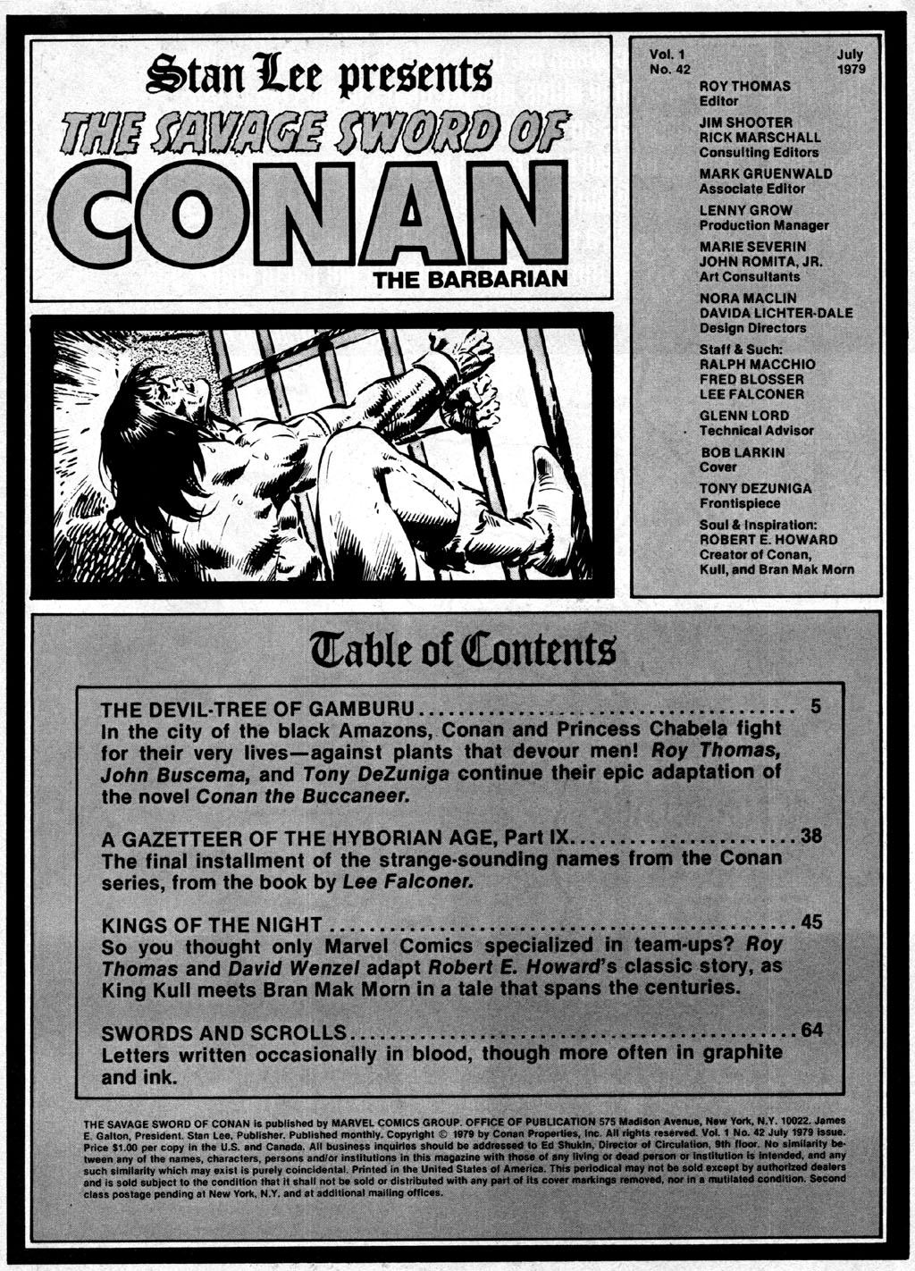 The Savage Sword Of Conan Issue #42 #43 - English 3