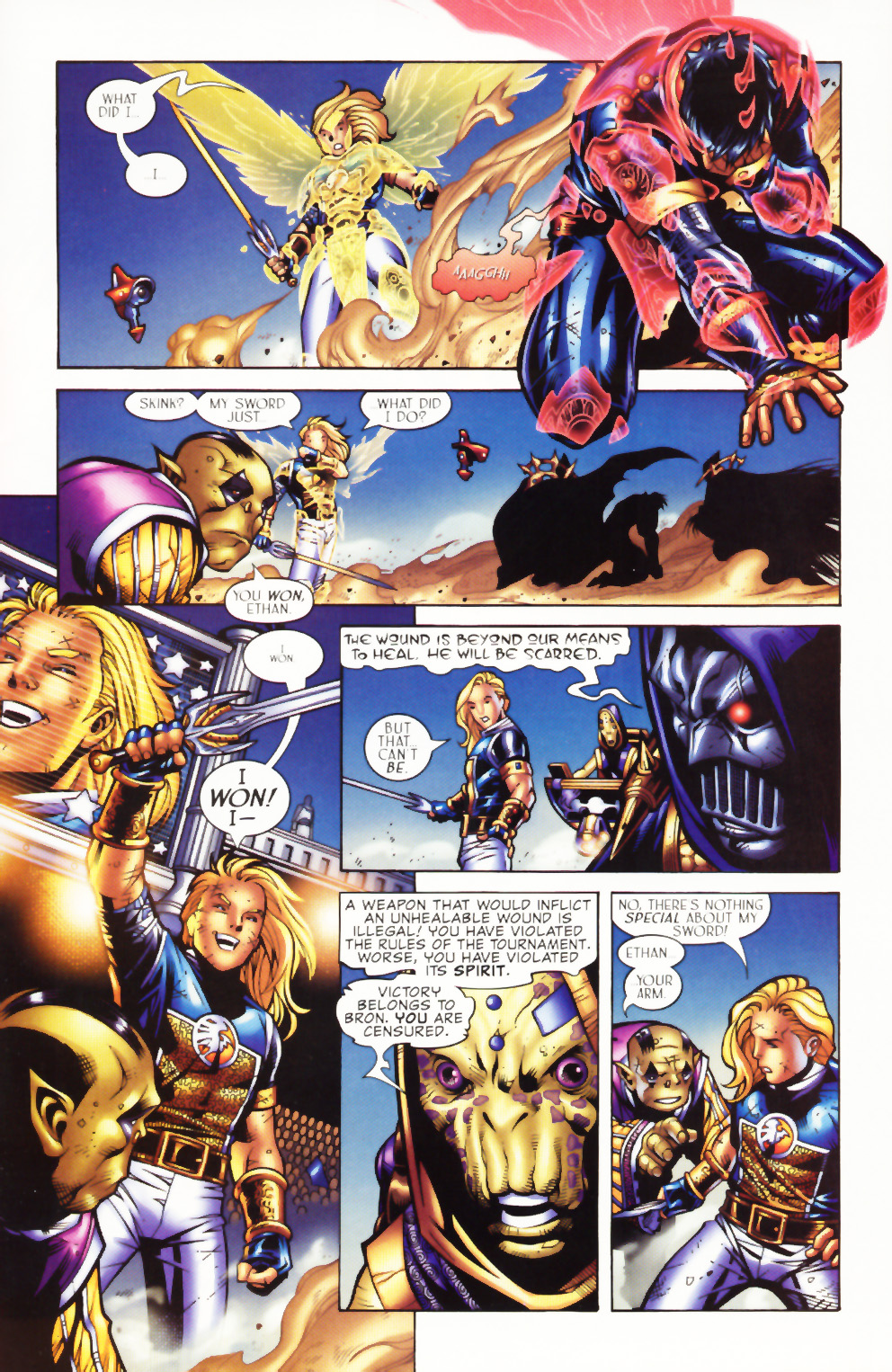 Read online Scion comic -  Issue #1 - 24