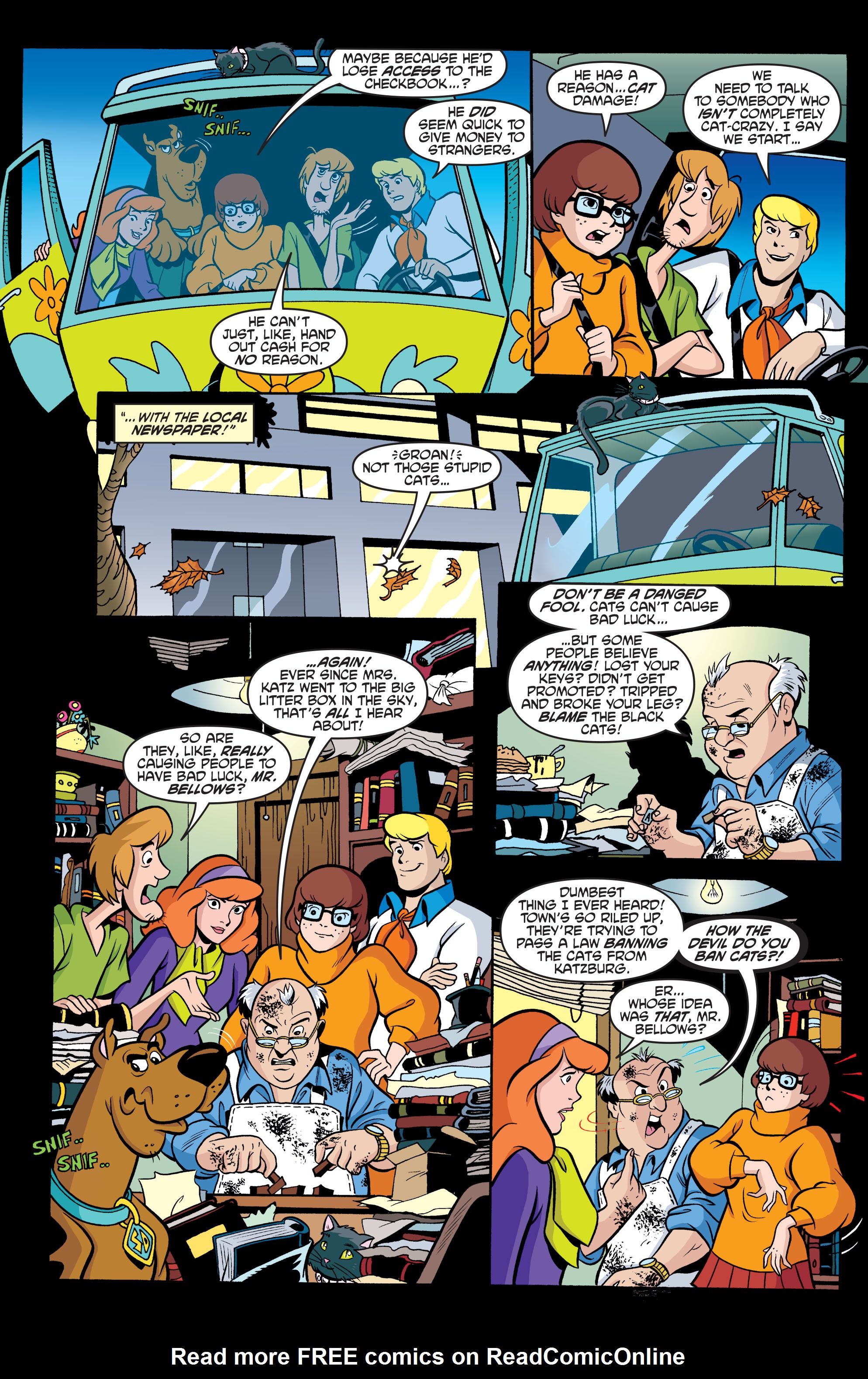 Read online Scooby-Doo: Where Are You? comic -  Issue #63 - 18