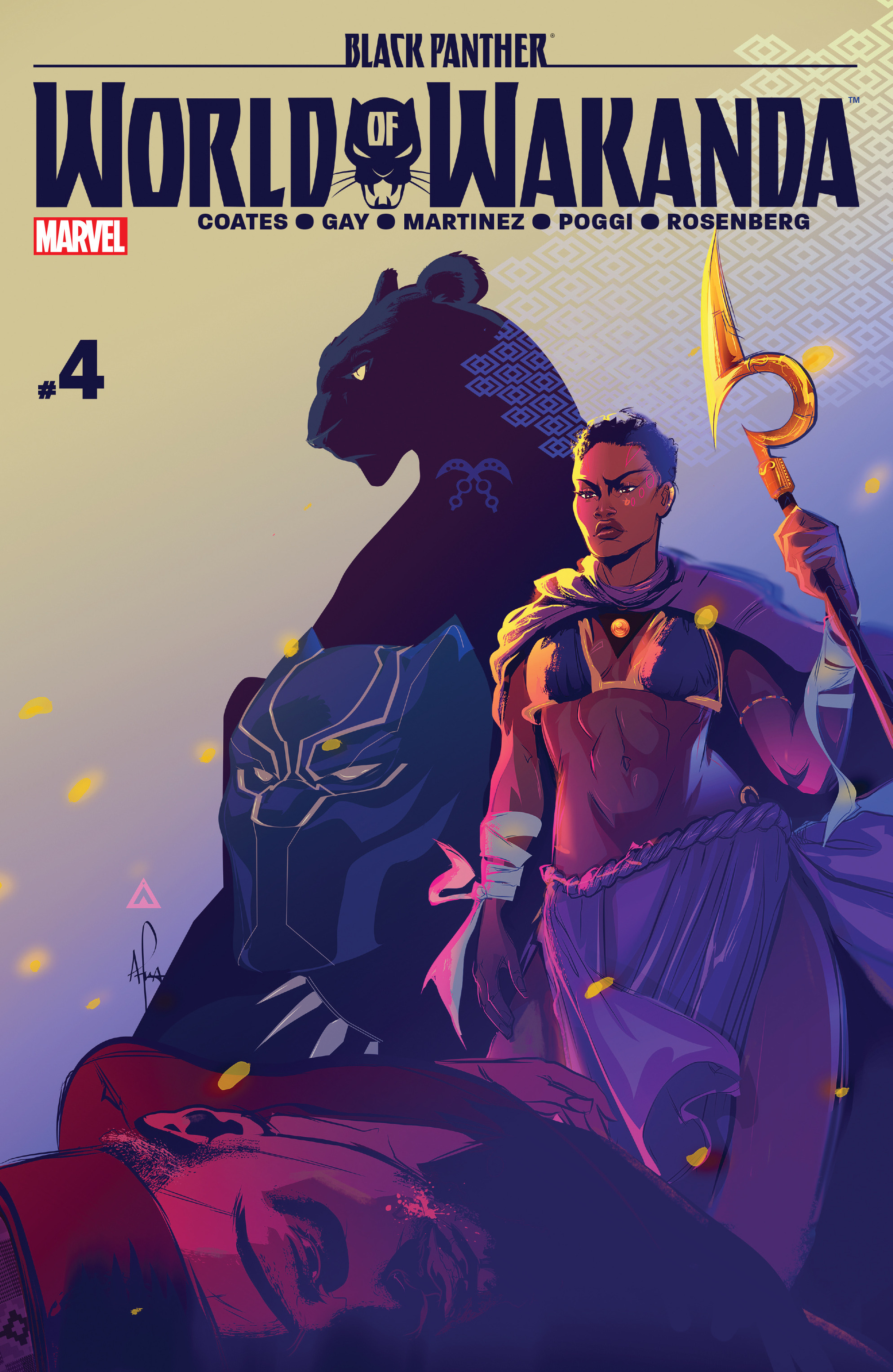 Read online Black Panther: World of Wakanda comic -  Issue #4 - 1
