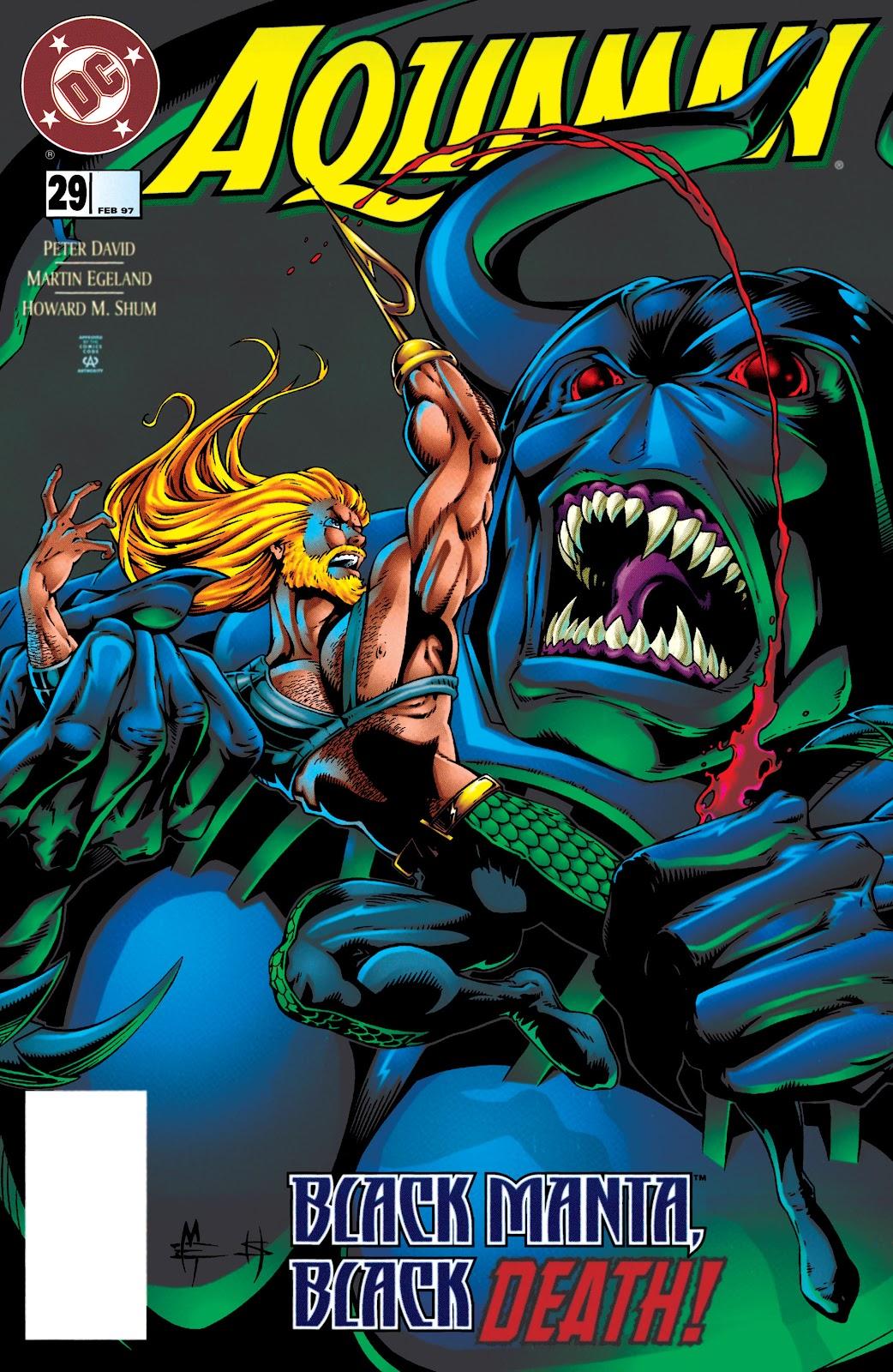 Aquaman (1994) Issue #29 #35 - English 1