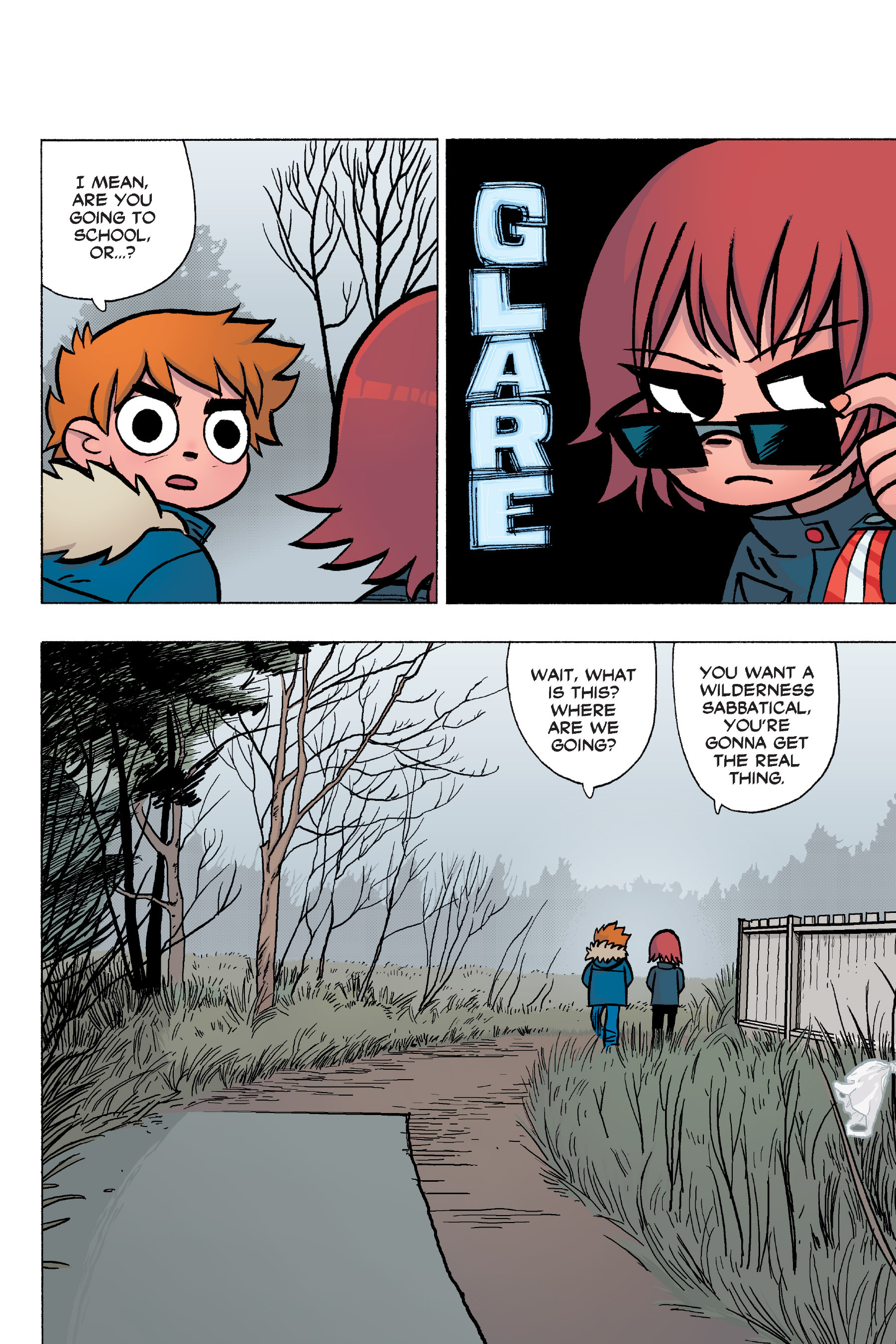 Read online Scott Pilgrim comic -  Issue #6 - 65