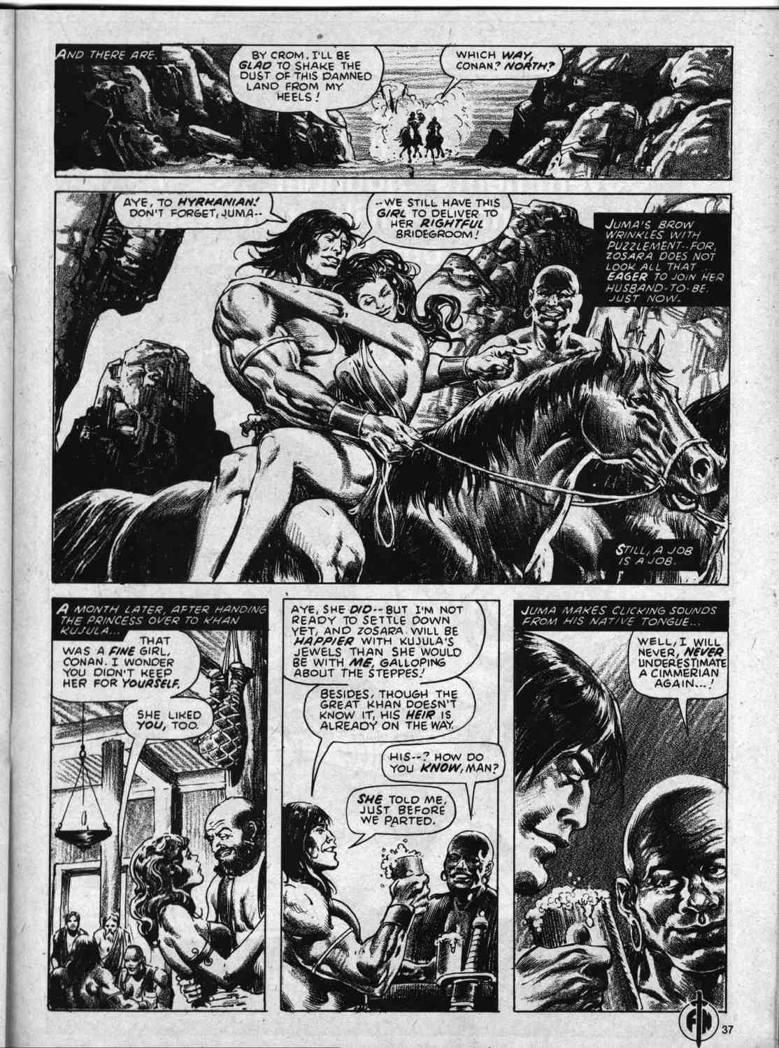 The Savage Sword Of Conan Issue #59 #60 - English 37