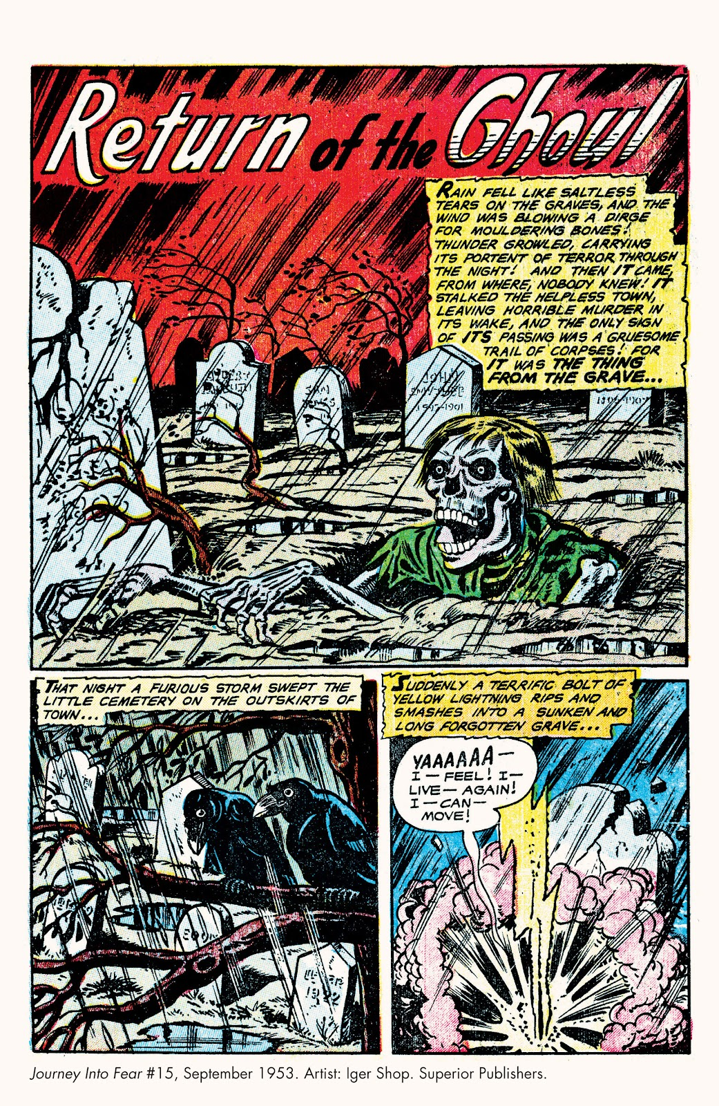 Haunted Horror Issue #9 #9 - English 16