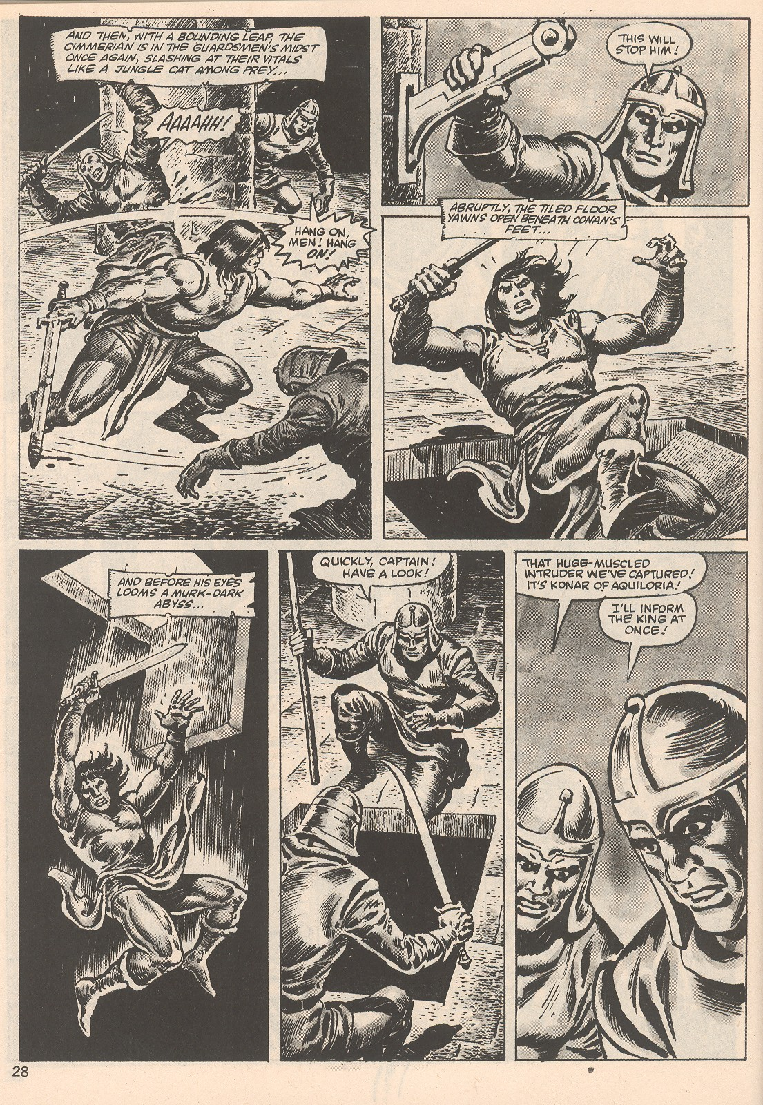 The Savage Sword Of Conan Issue #104 #105 - English 28