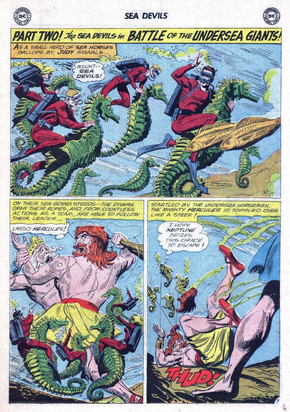 Read online Sea Devils comic -  Issue #14 - 11