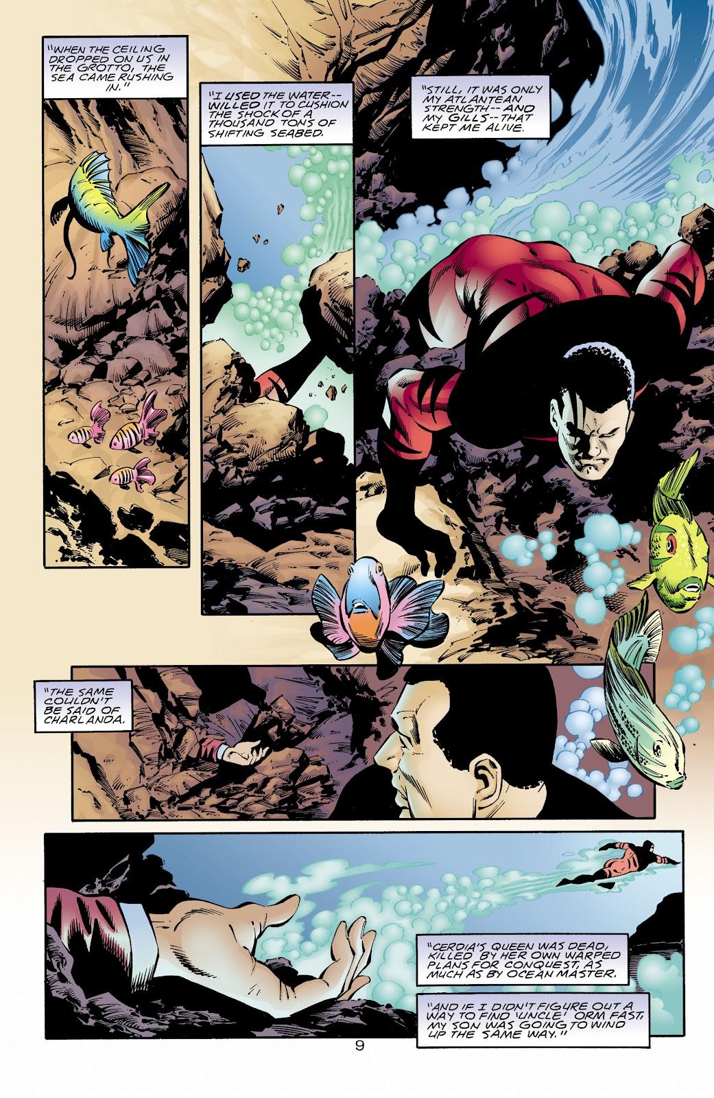 Aquaman (1994) Issue #68 #74 - English 10
