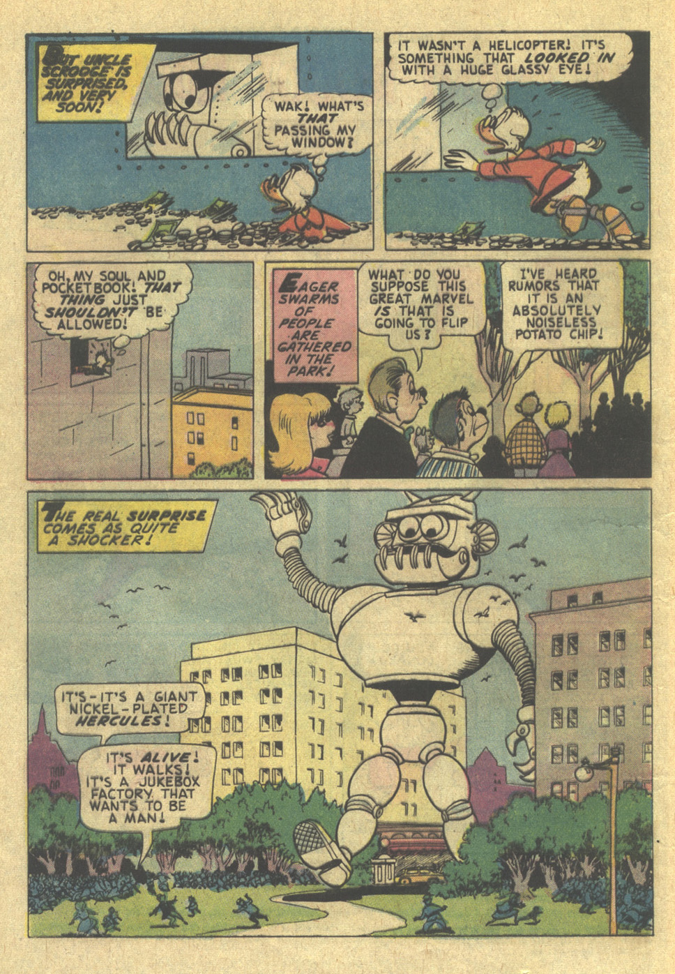 Uncle Scrooge (1953) Issue #115 #115 - English 4