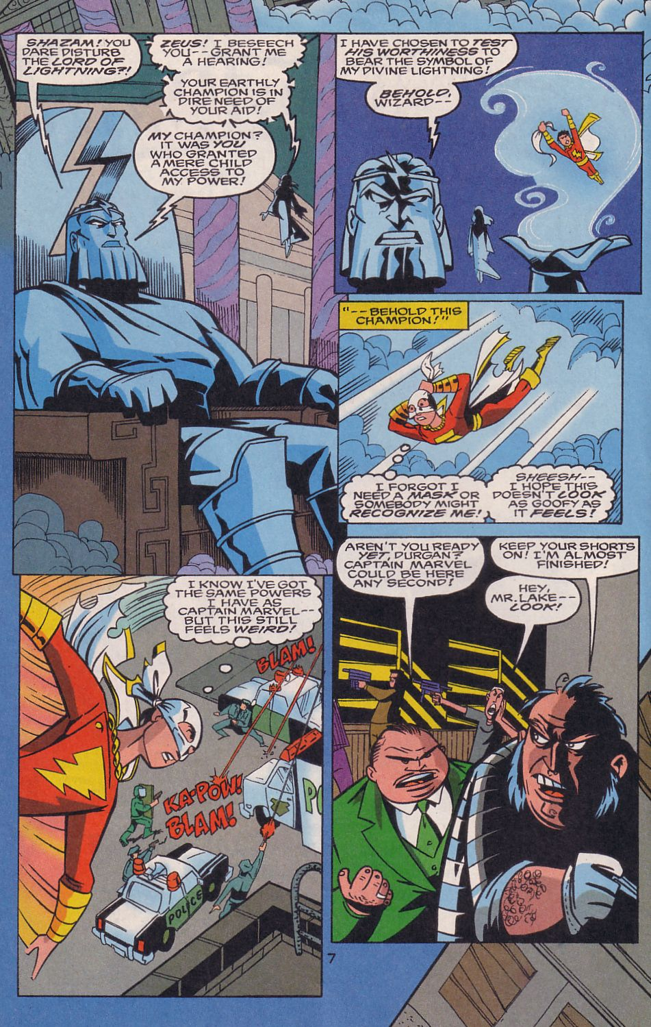 Read online Adventures in the DC Universe comic -  Issue #15 - 8