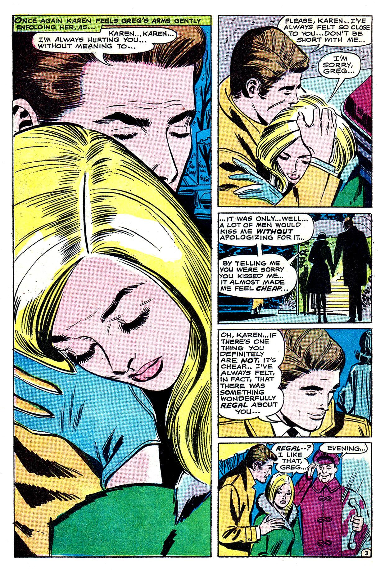 Read online Secret Hearts comic -  Issue #135 - 22
