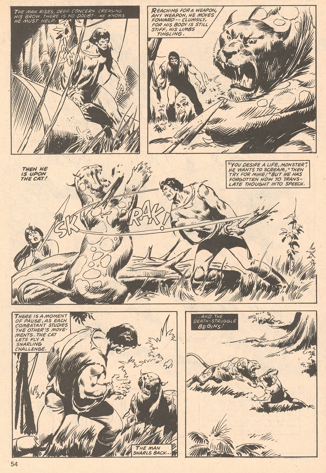 The Savage Sword Of Conan Issue #66 #67 - English 54