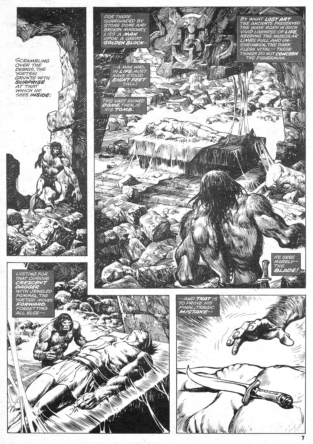The Savage Sword Of Conan Issue #15 #16 - English 7