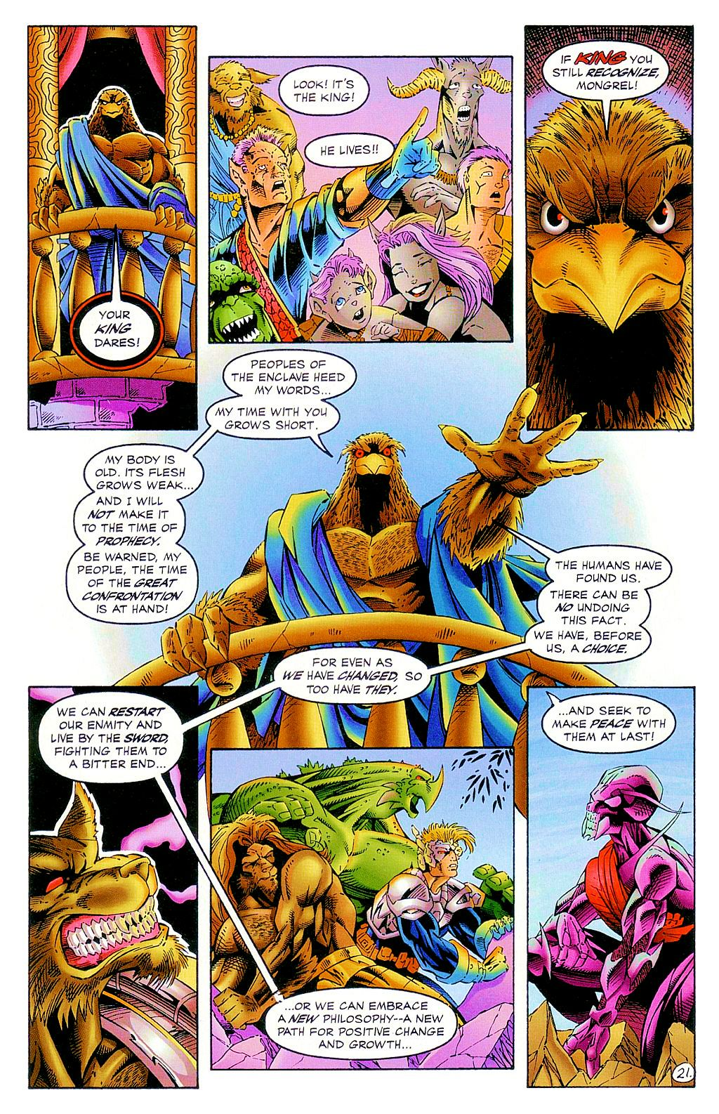 Read online The Others comic -  Issue #2 - 22