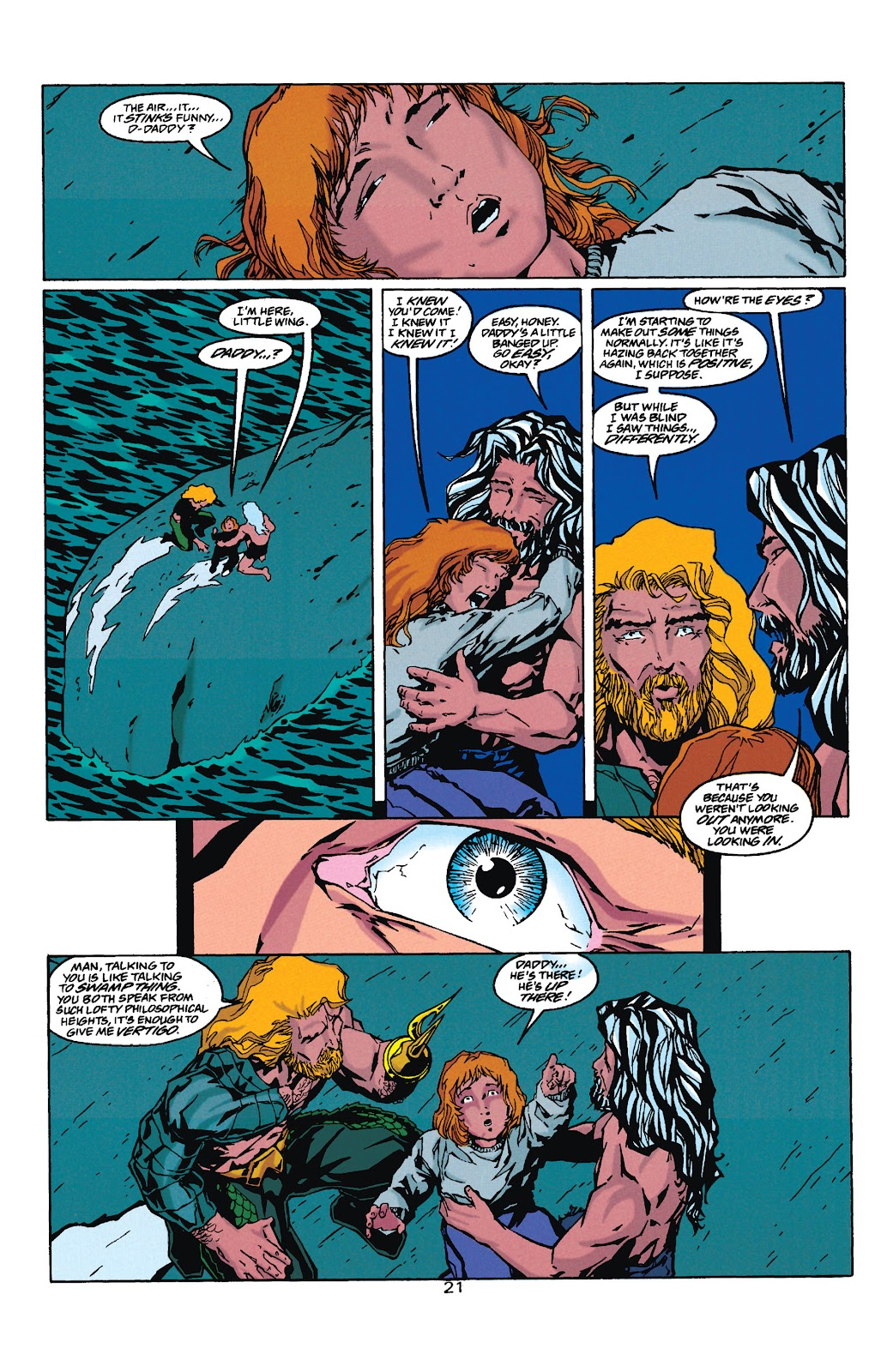 Aquaman (1994) Issue #35 #41 - English 21