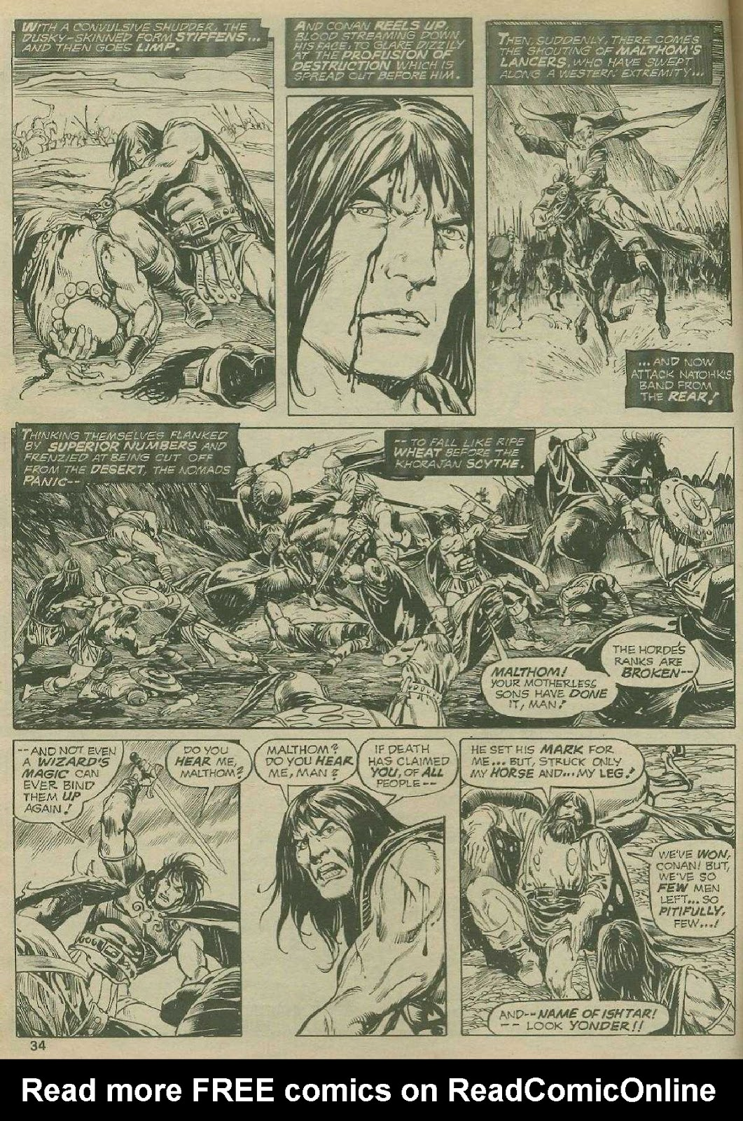 The Savage Sword Of Conan Issue #2 #3 - English 33