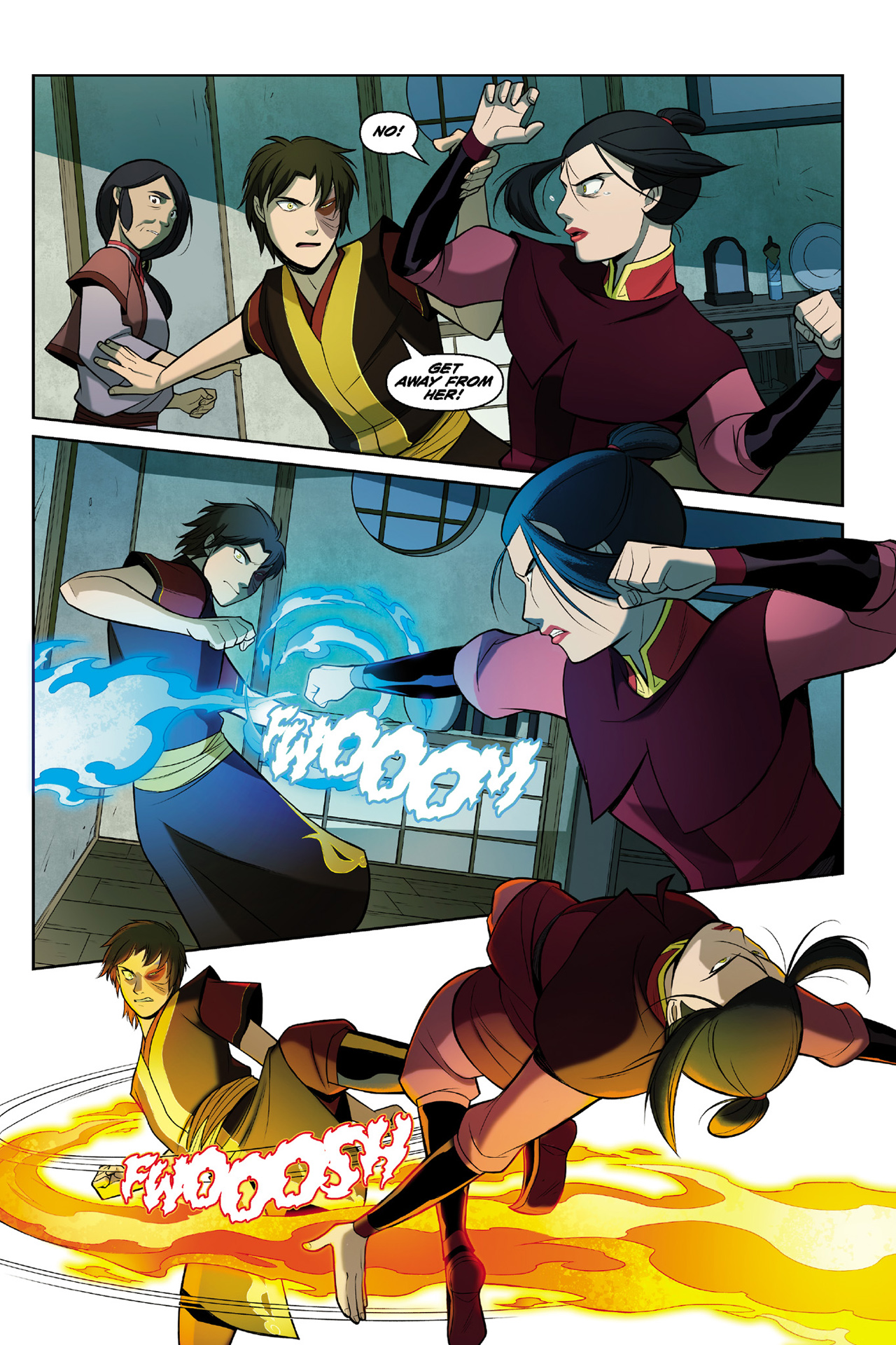 Read online Nickelodeon Avatar: The Last Airbender - The Search comic -  Issue # Part 3 - 61