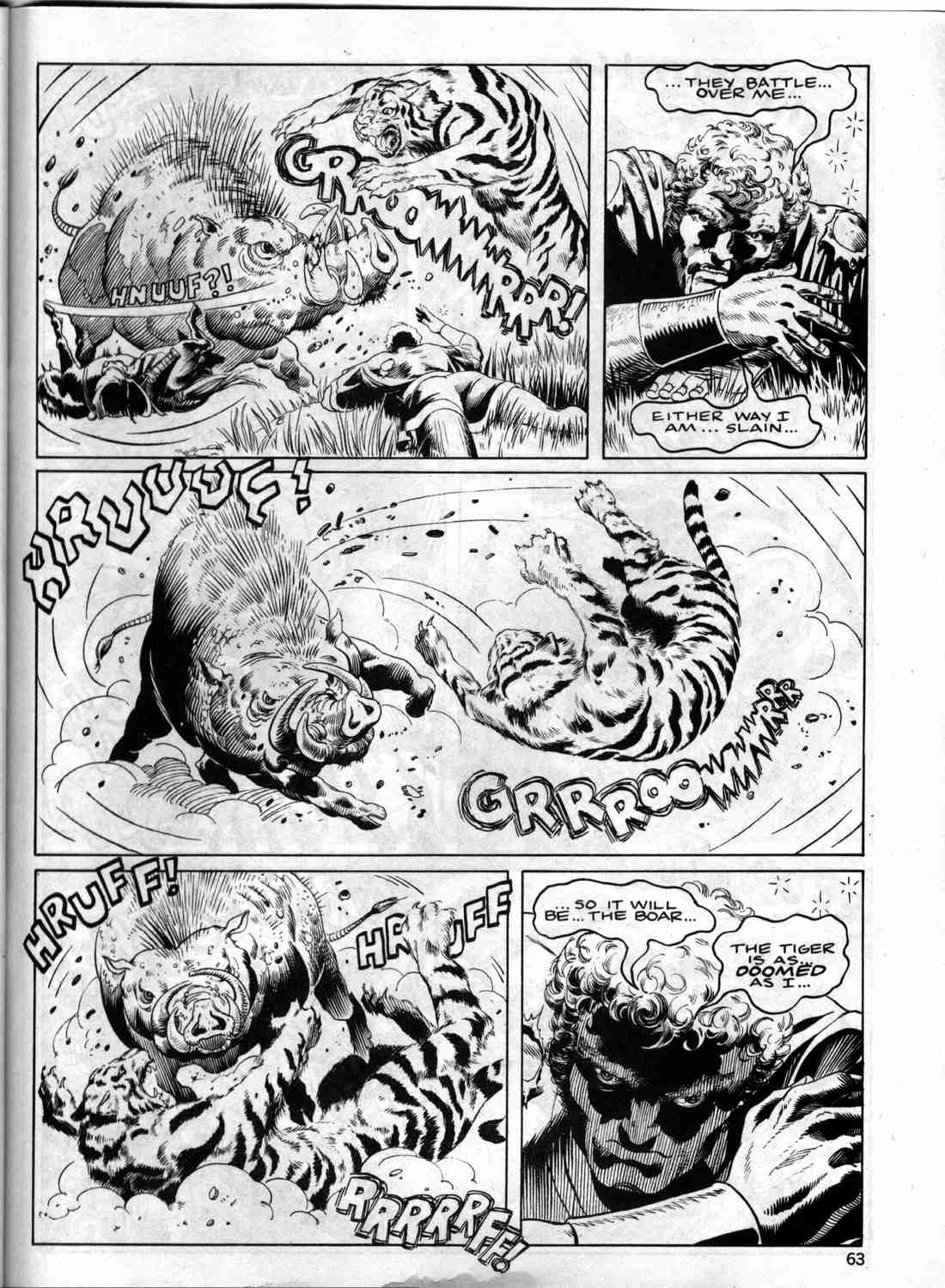 The Savage Sword Of Conan Issue #133 #134 - English 62