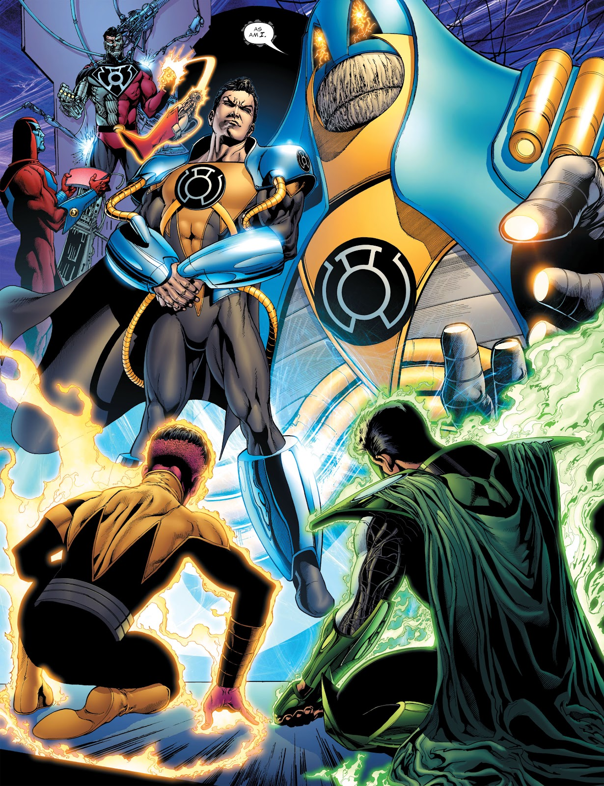 Green Lantern: The Sinestro Corps War Full #1 - English 48