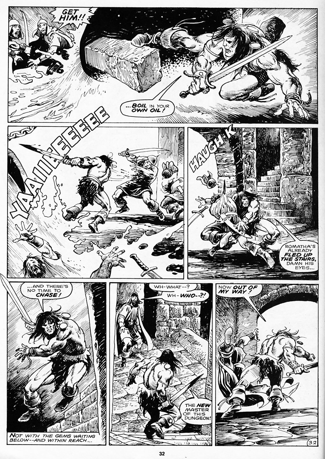 The Savage Sword Of Conan Issue #180 #181 - English 34