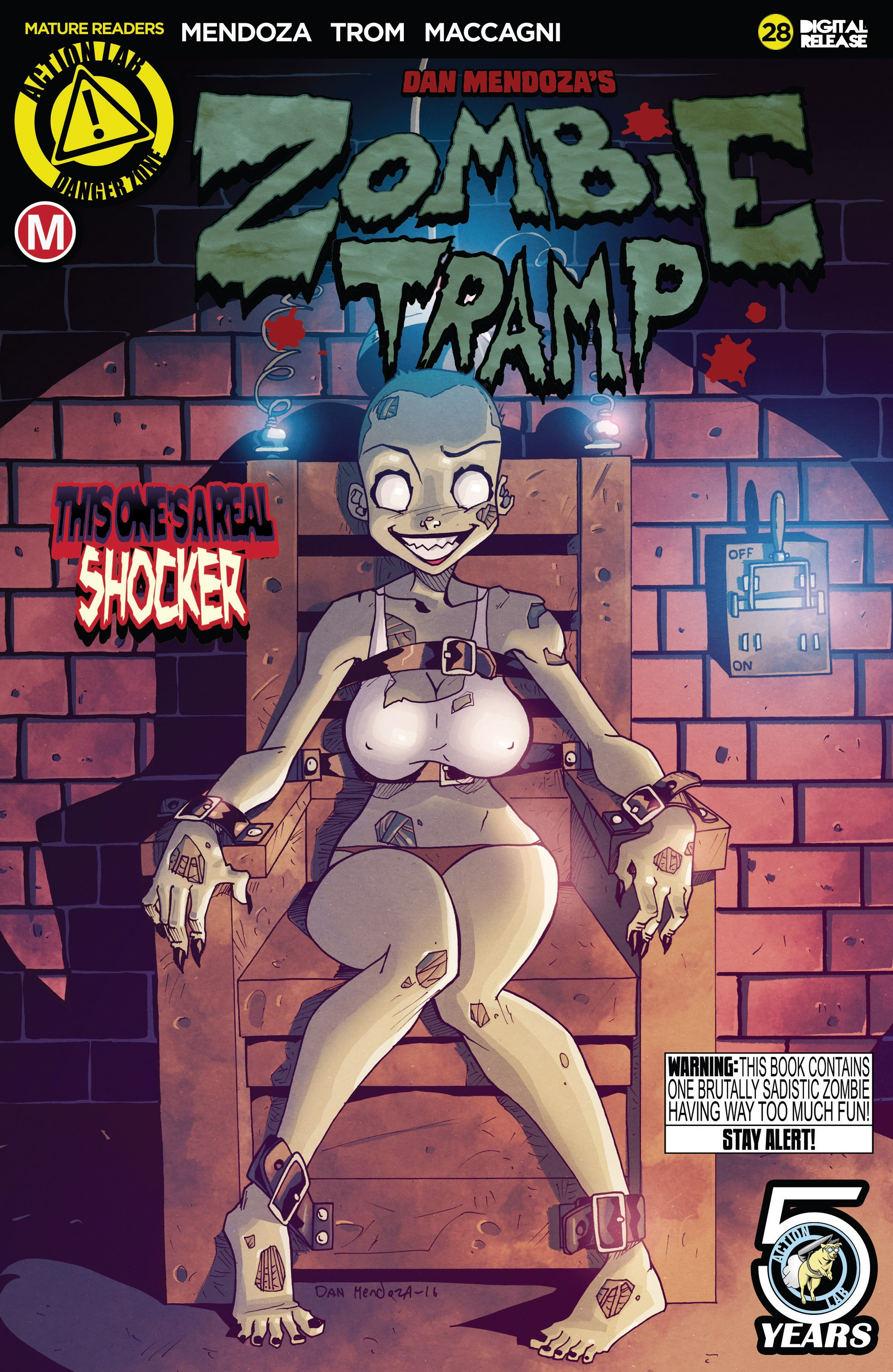 Zombie Tramp (2014) 28 Page 1