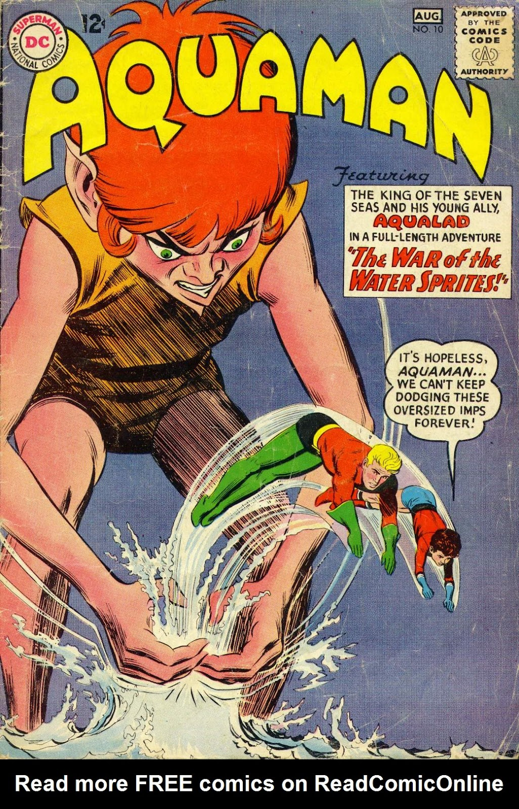 Aquaman (1962) Issue #10 #10 - English 1