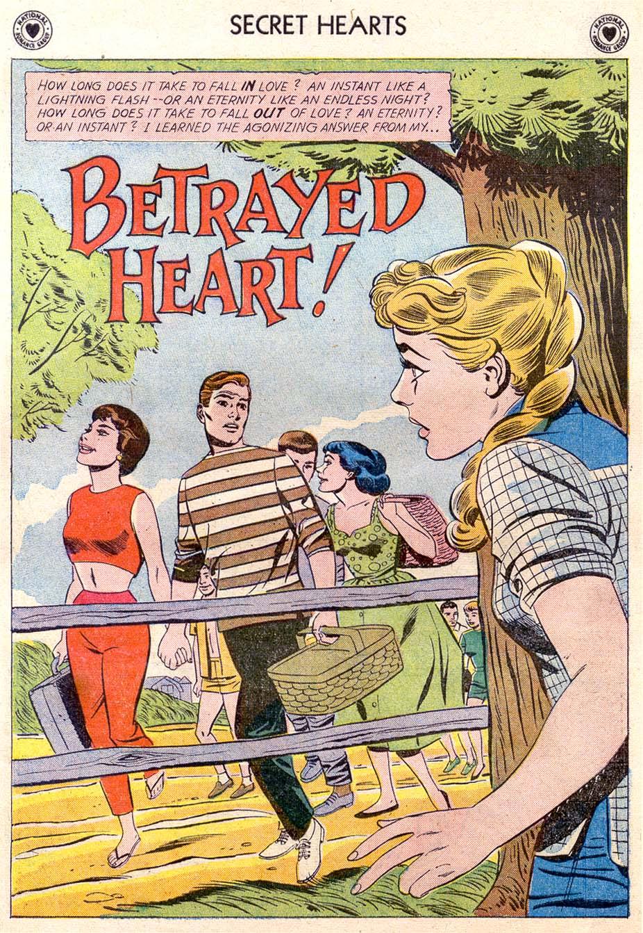 Read online Secret Hearts comic -  Issue #65 - 26