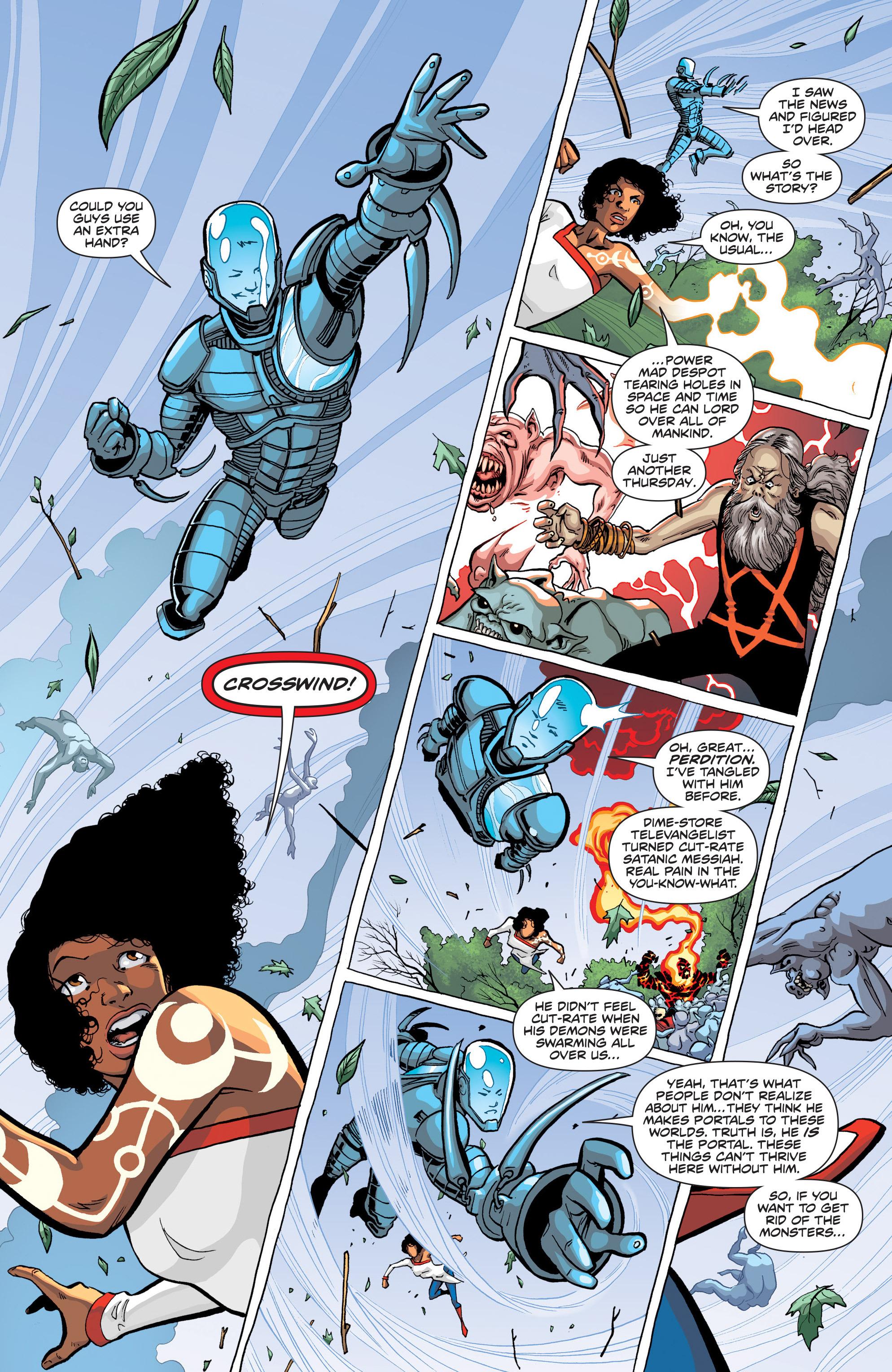 Read online Secret Identities comic -  Issue #1 - 6