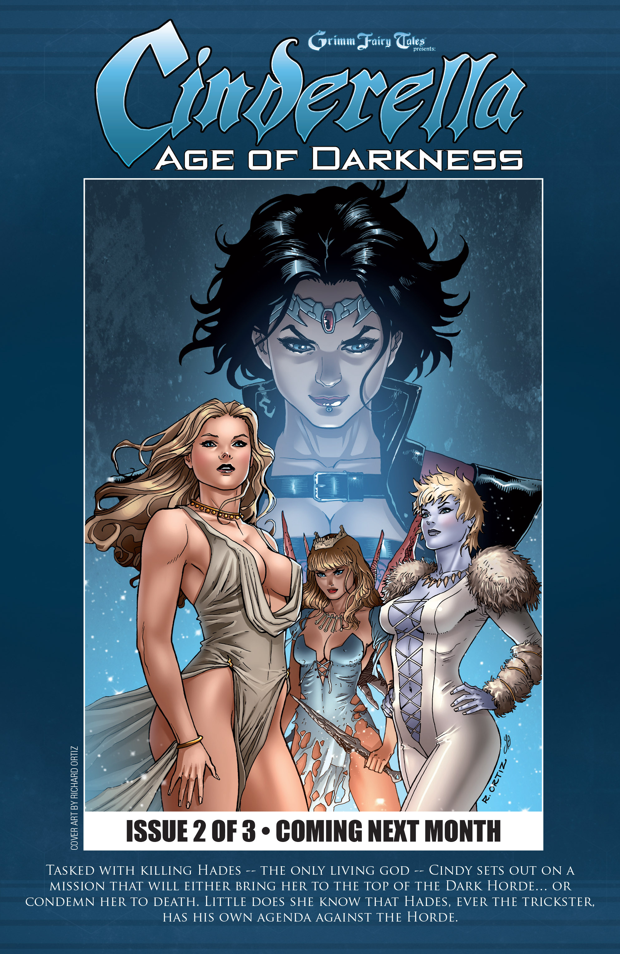 Read online Grimm Fairy Tales presents Cinderella: Age of Darkness comic -  Issue #1 - 24