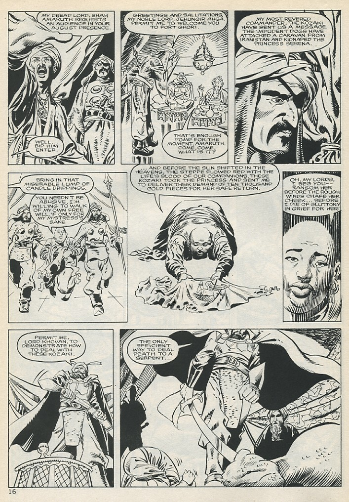 The Savage Sword Of Conan Issue #131 #132 - English 16