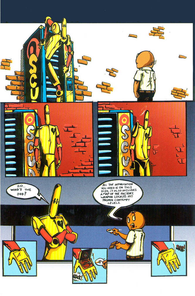 Read online Scud: The Disposable Assassin (1994) comic -  Issue #1 - 7