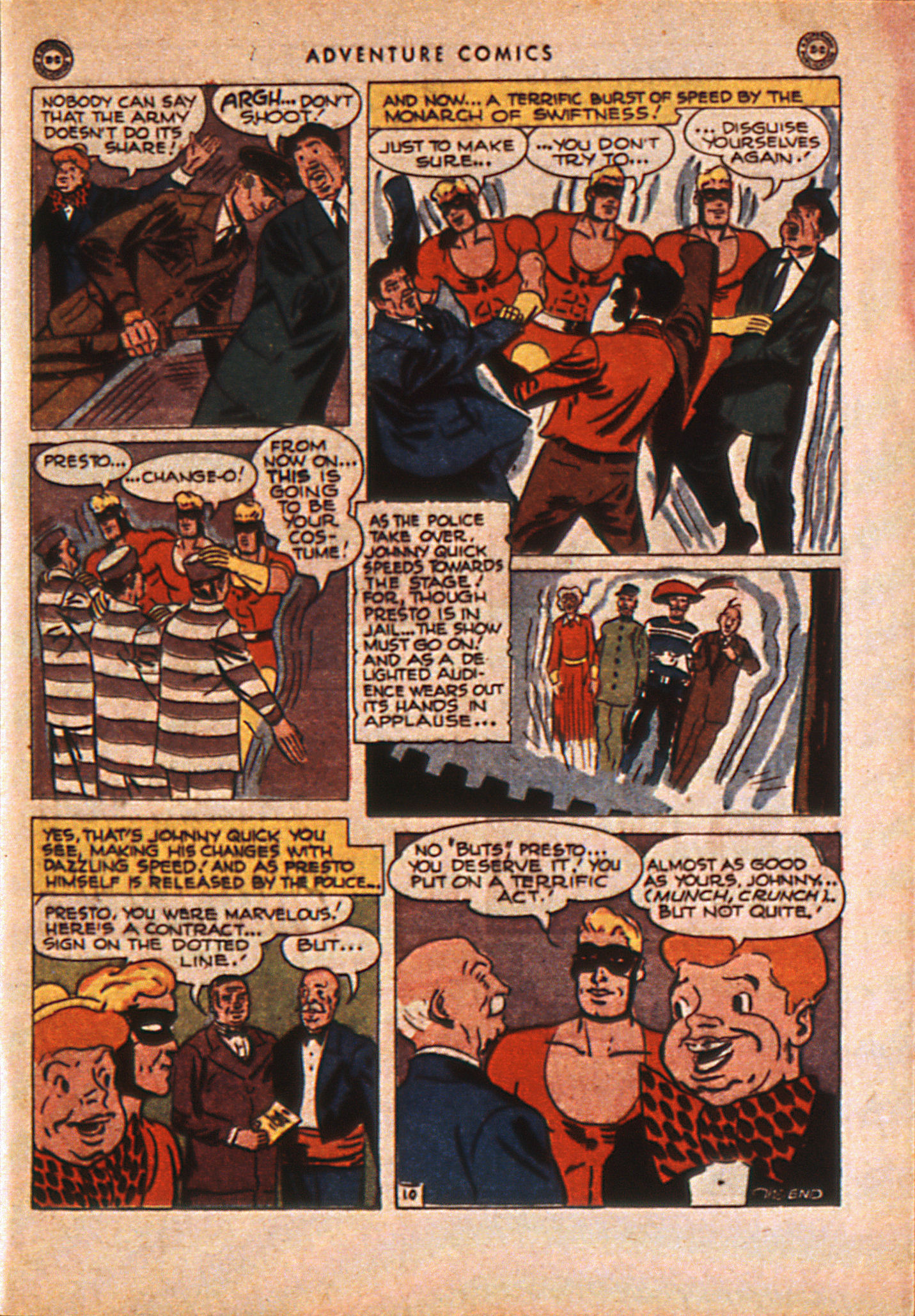 Read online Adventure Comics (1938) comic -  Issue #110 - 50
